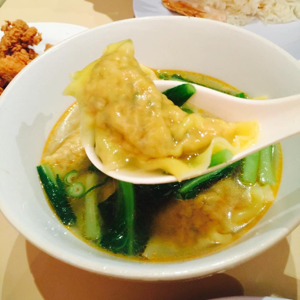 $9.50 Dumpling soup (5 pieces)