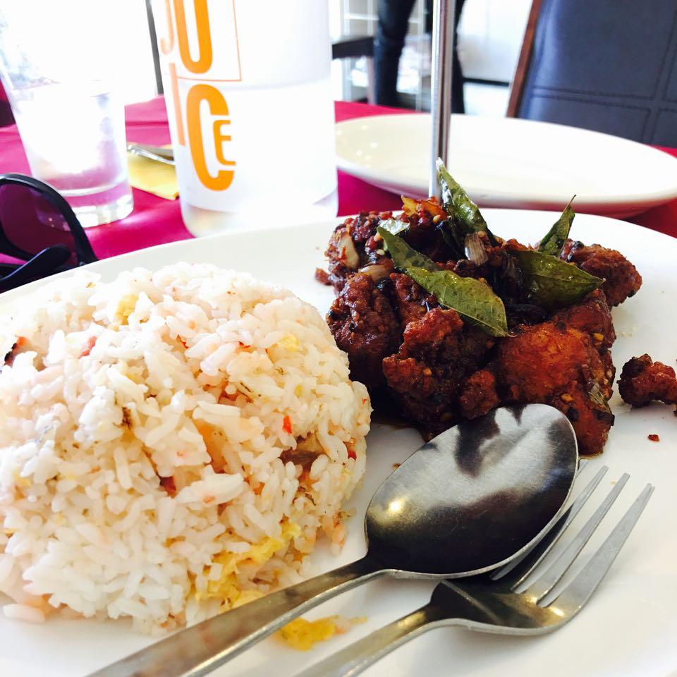 South Ocean Chinese Restaurant Thai style chicken