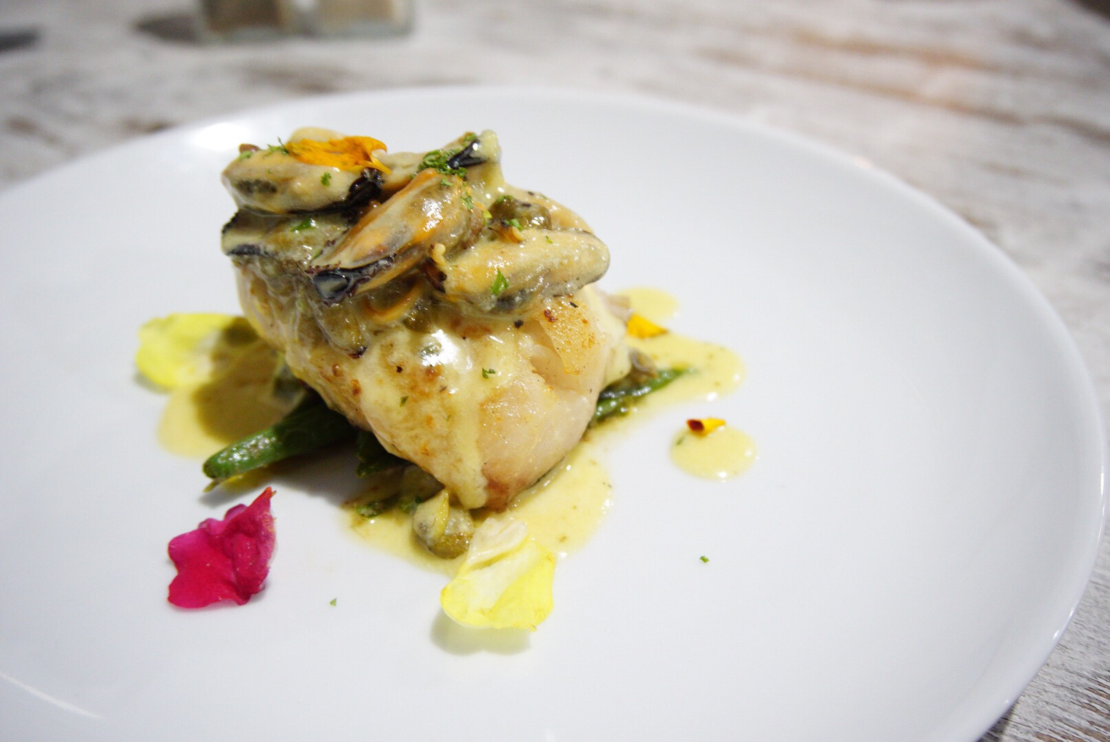 The Special of the night at the Pickled Herring, Two Rocks: threadfin salmon