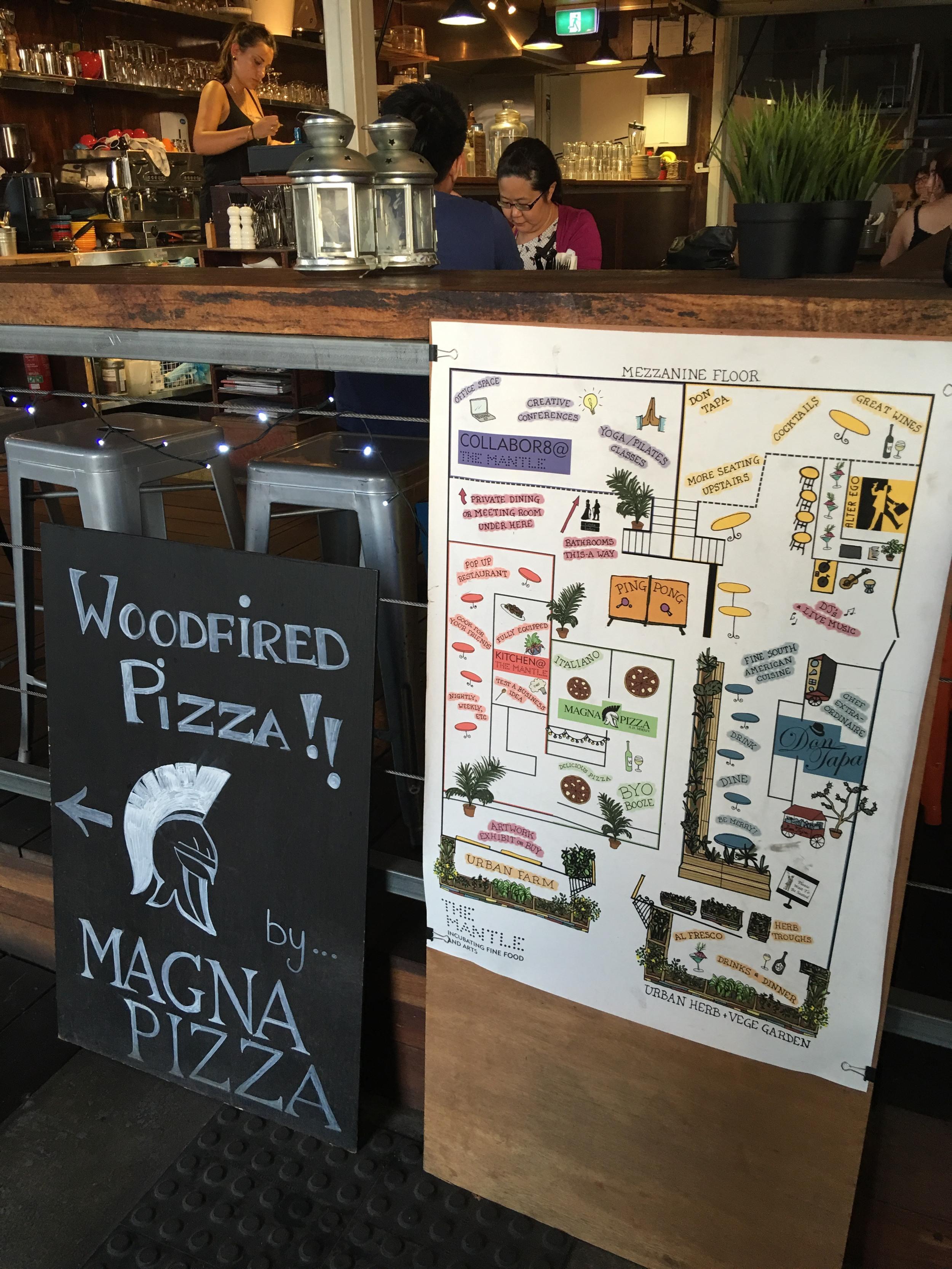 Magna Pizza at the Mantle Fremantle