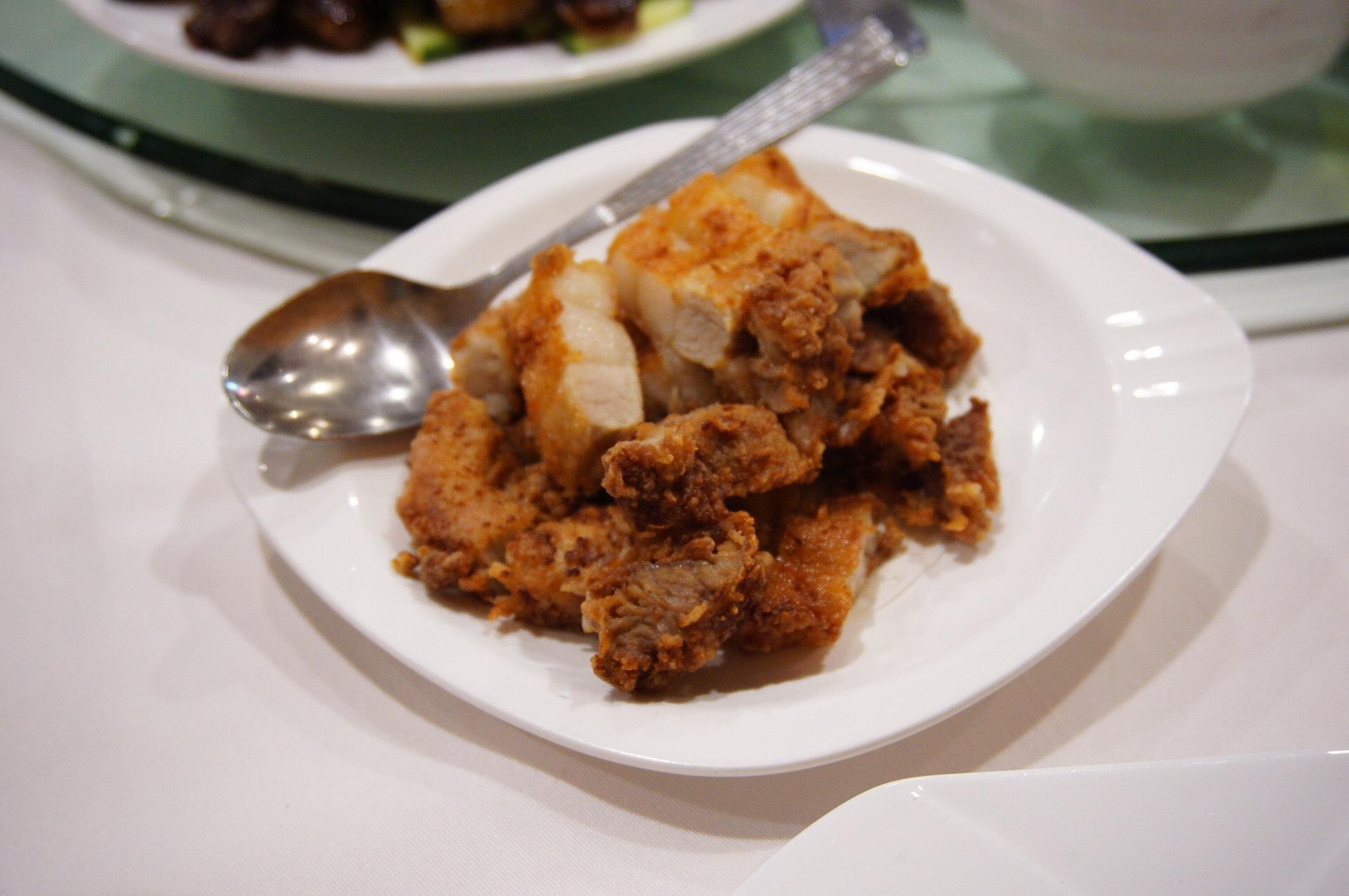 Kenko Home Cuisine's Fried Hakka Pork Belly