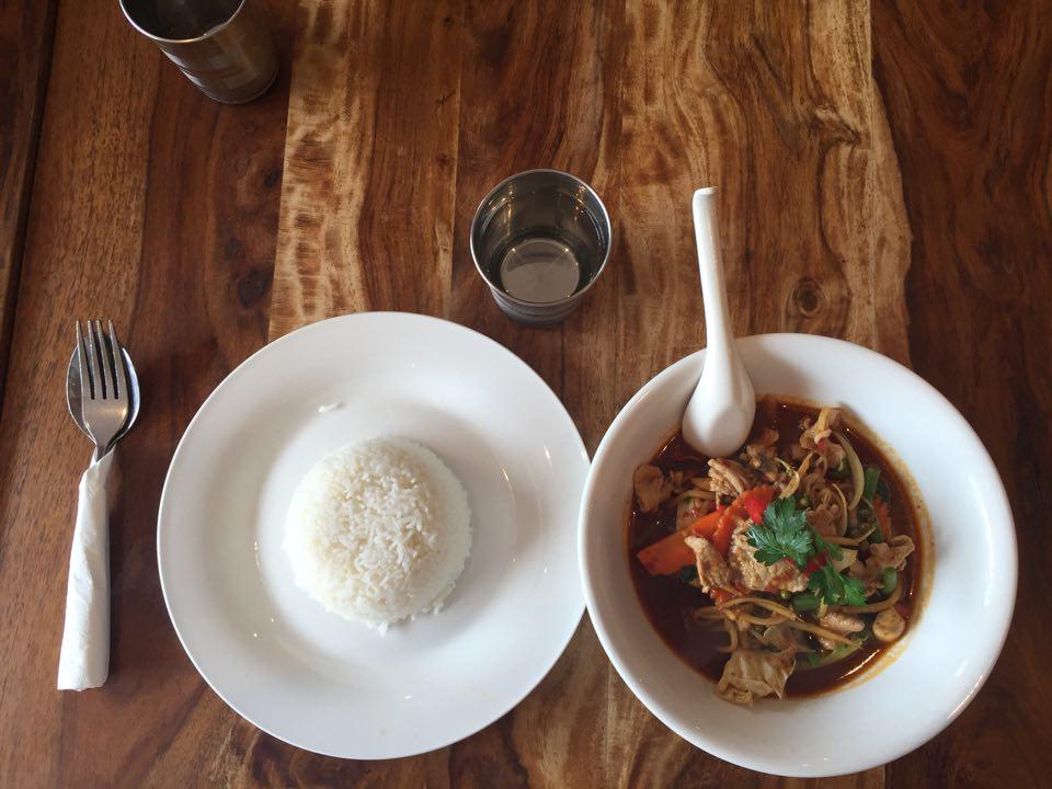 Jungle Curry Red Basil Thai