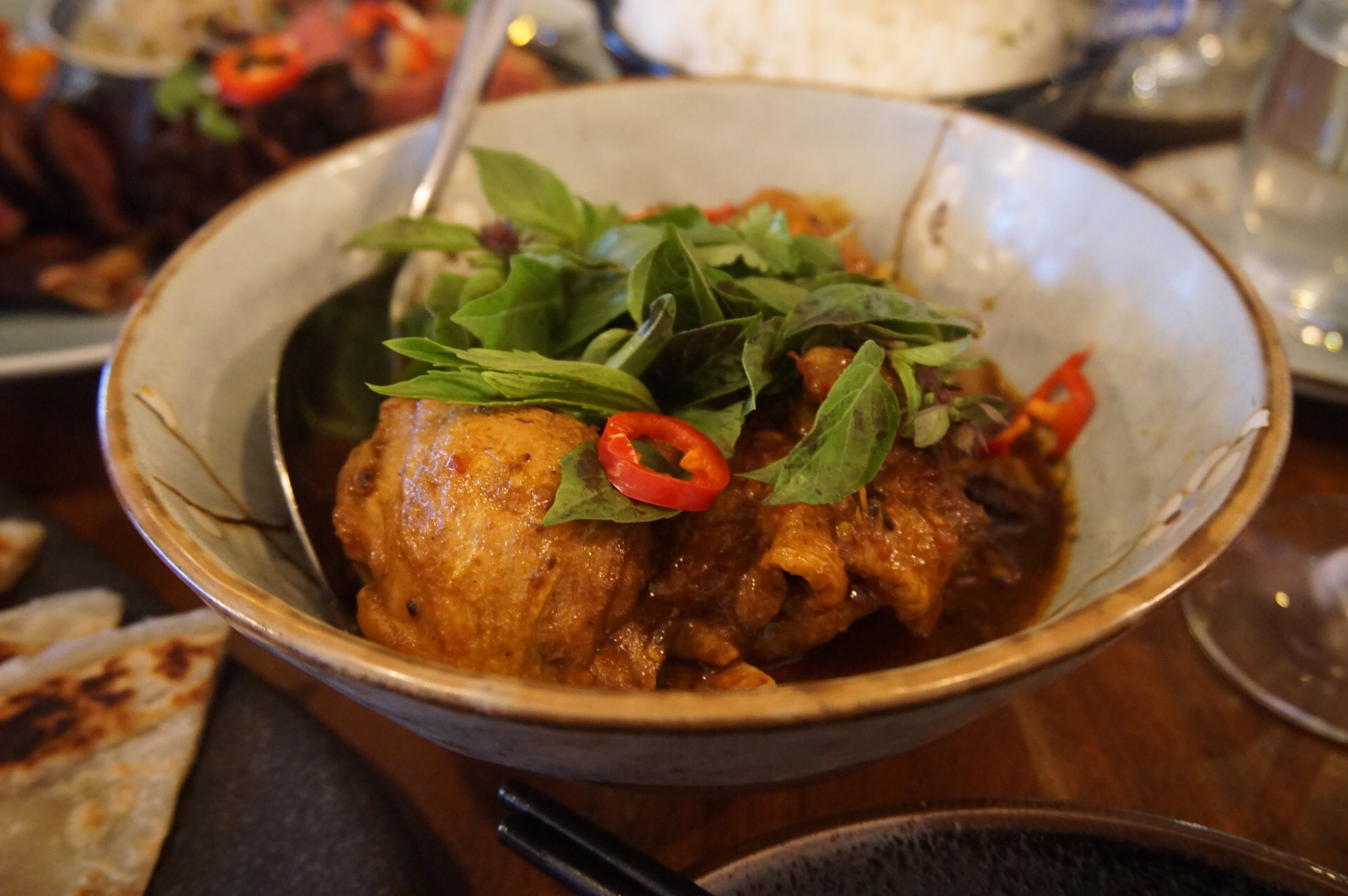 Spicy Kari Ayam from Low Key Chow House