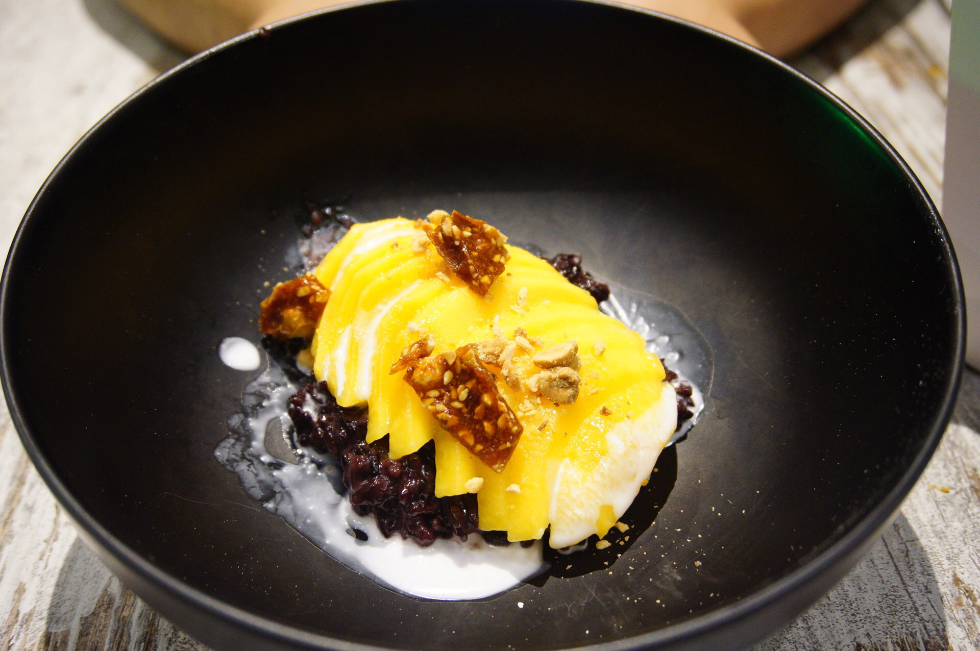 Black Sticky Rice Mango