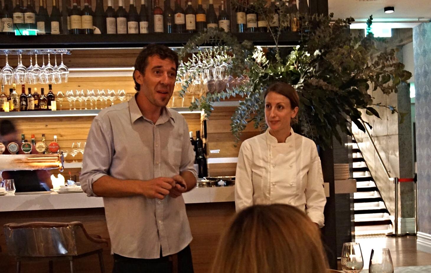 Riccardo and Chef Alexandra