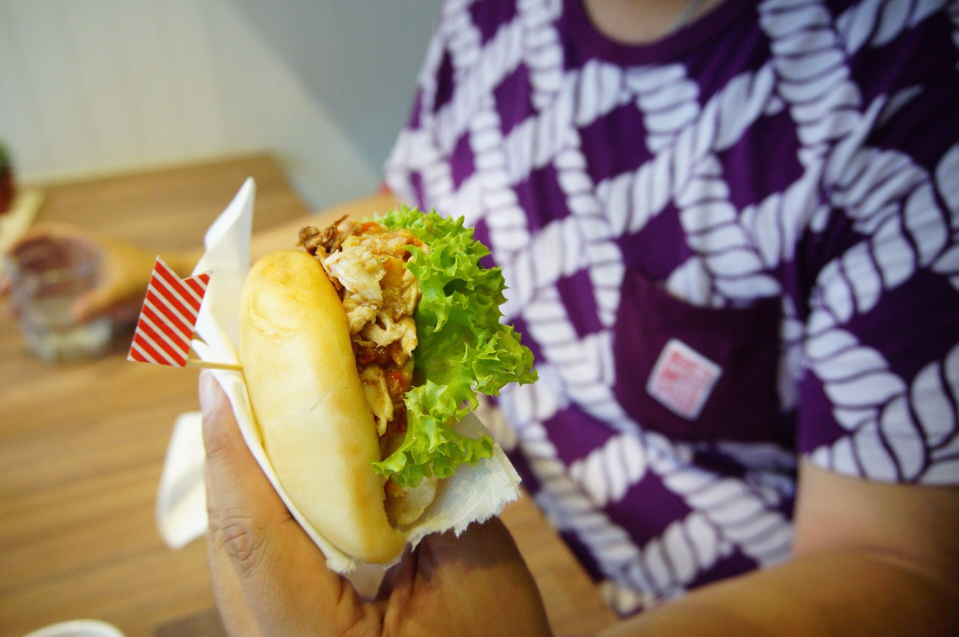 Chili Crab Bao was Spicy enough to give you a kick!