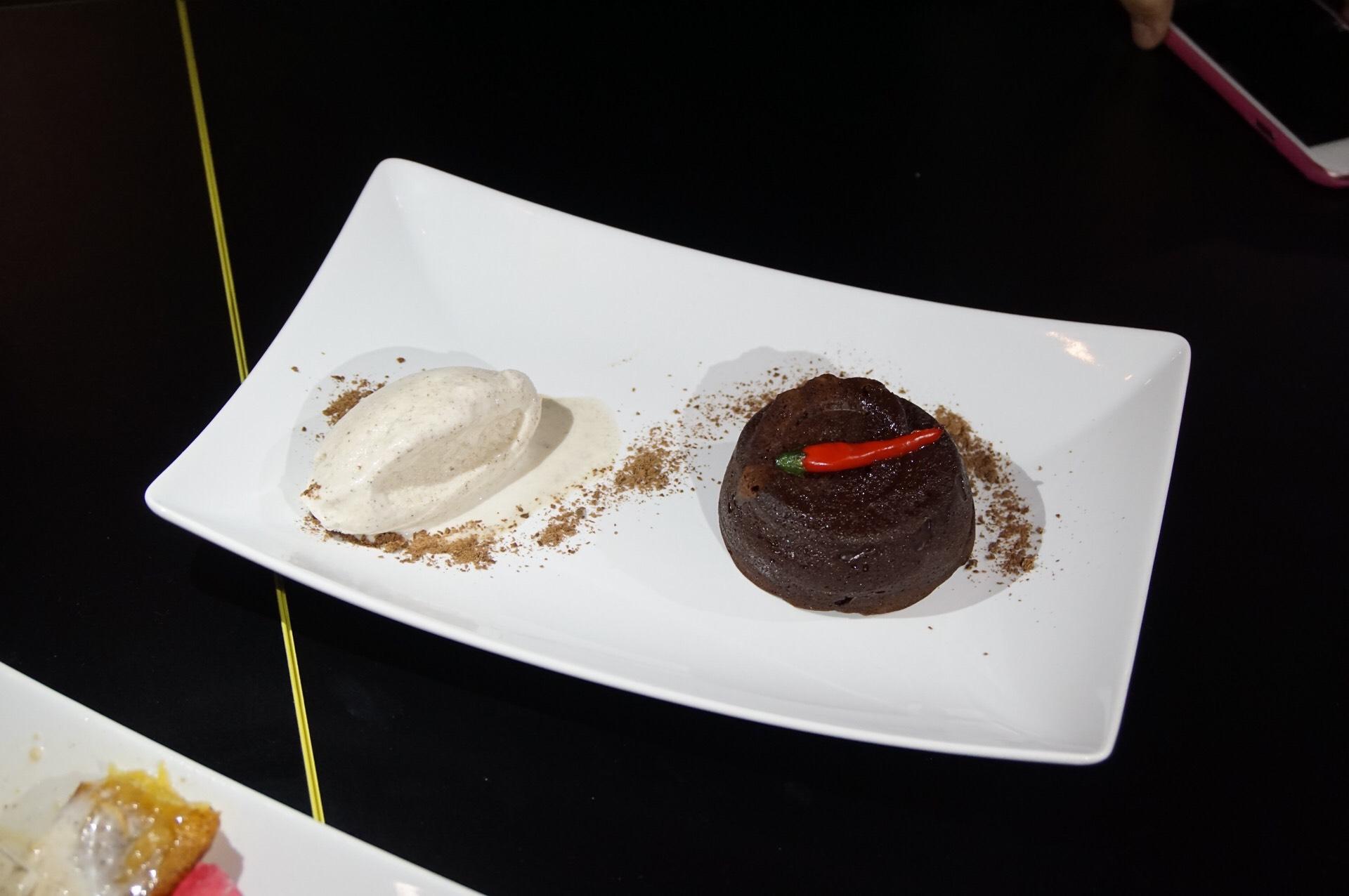 Chili Chocolate Fondant from Karibbean Corner