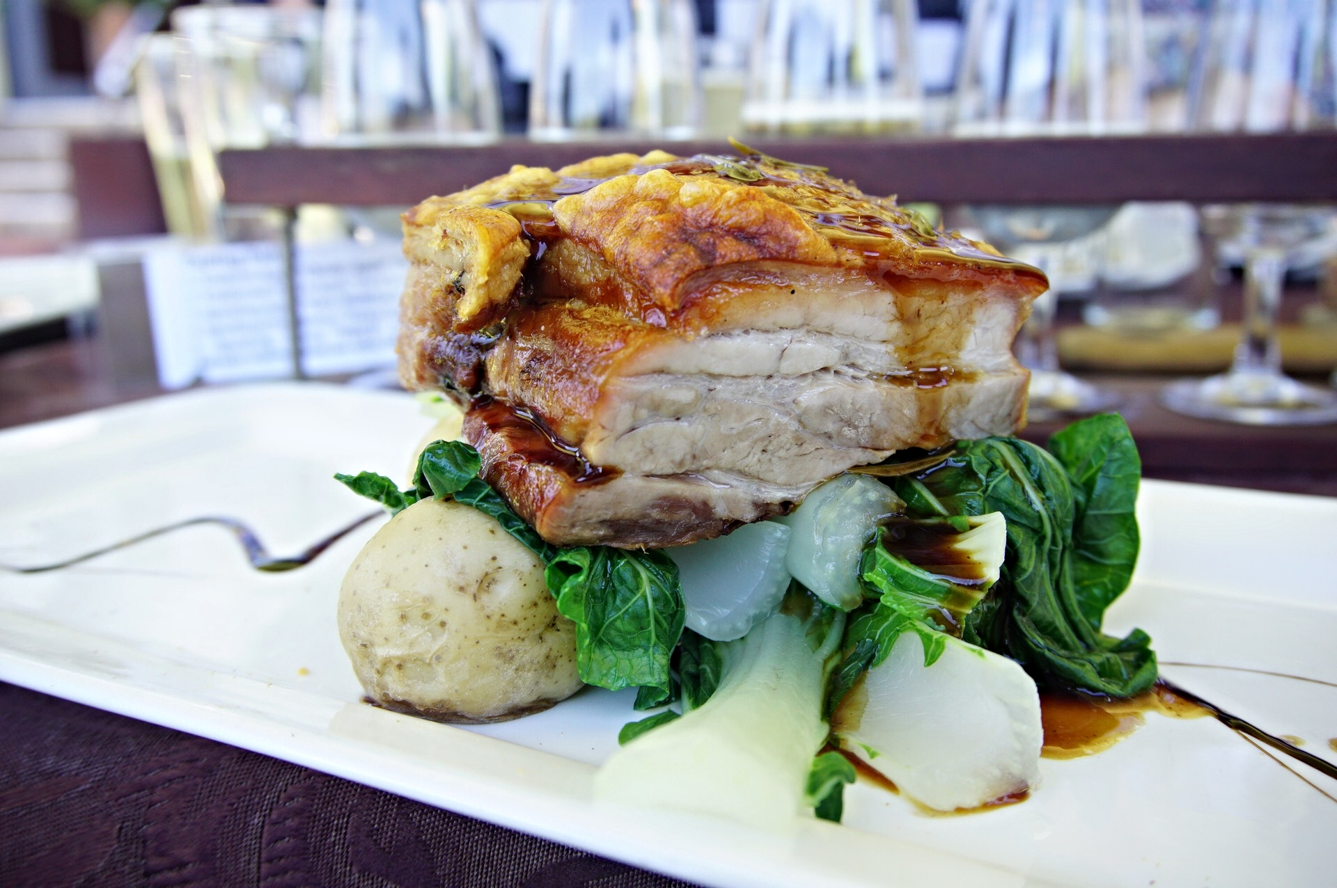 the core pork belly Core Cider House