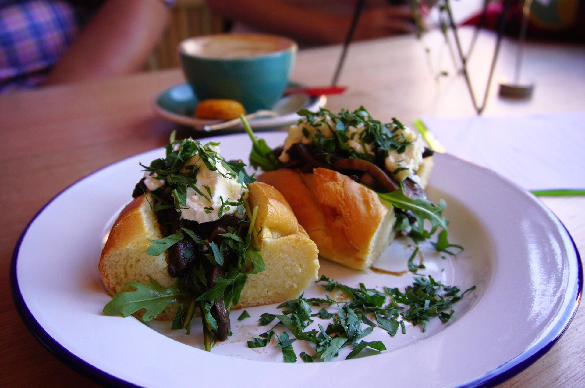 Saint Larry's Portobello Mushrooms
