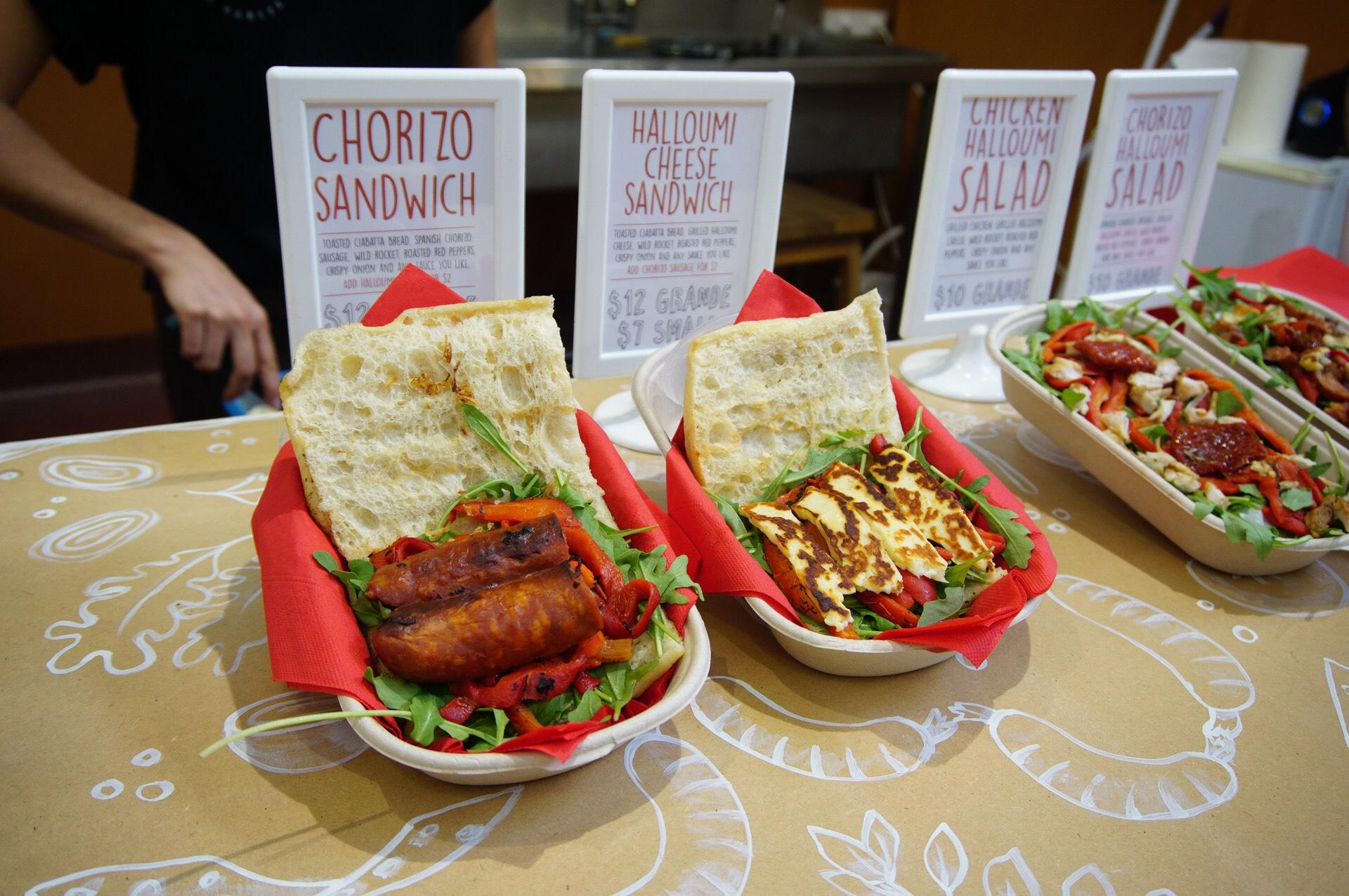 Sandwich Comprende Fremantle Markets