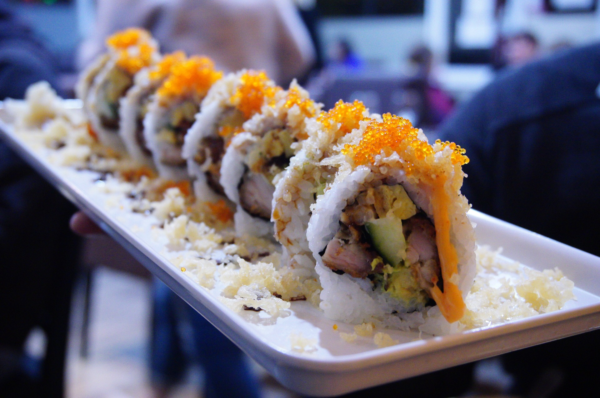 Crunchy Roll, very huge!