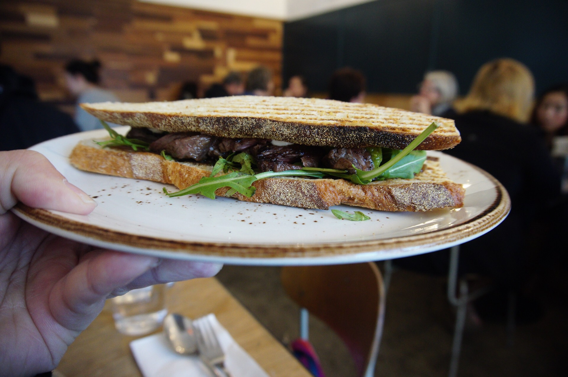 Mary Street Bakery Steak Sandwich
