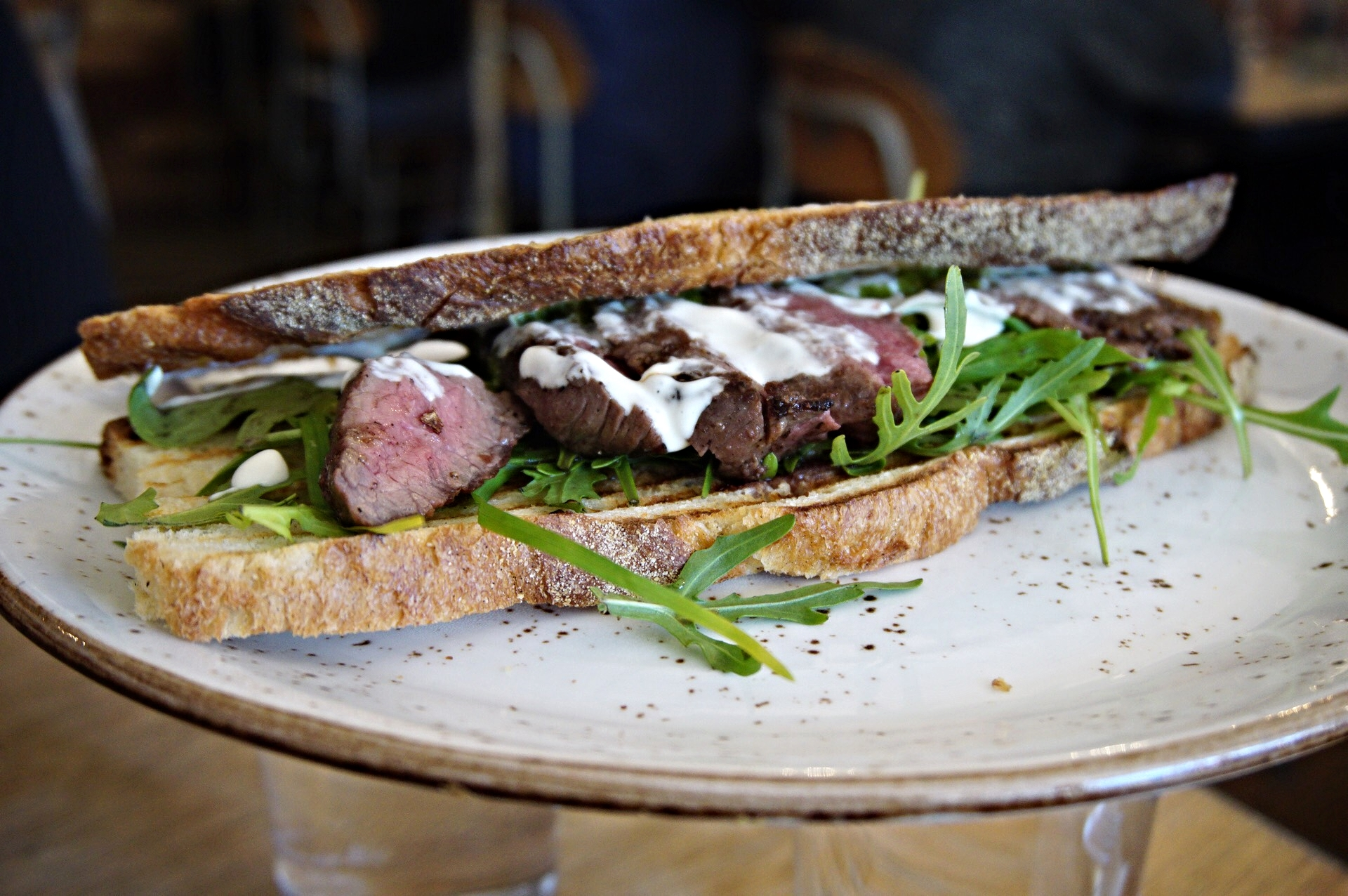 Delicious Steak Sandwich
