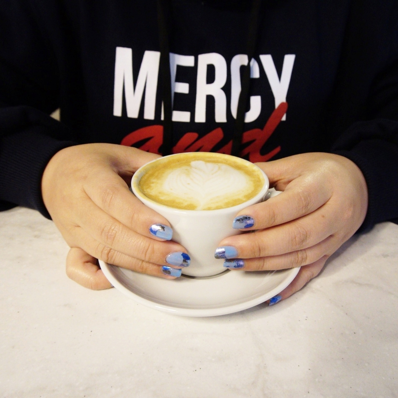 Great coffee! ps: Nails by  House of Ten  <3