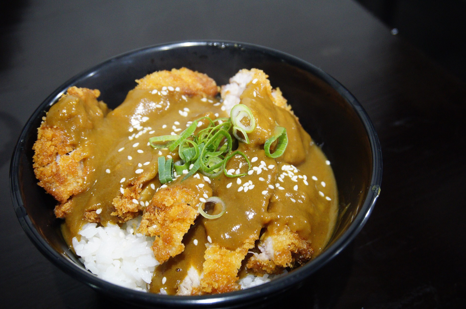 Chicken Katsu Curry Donburi