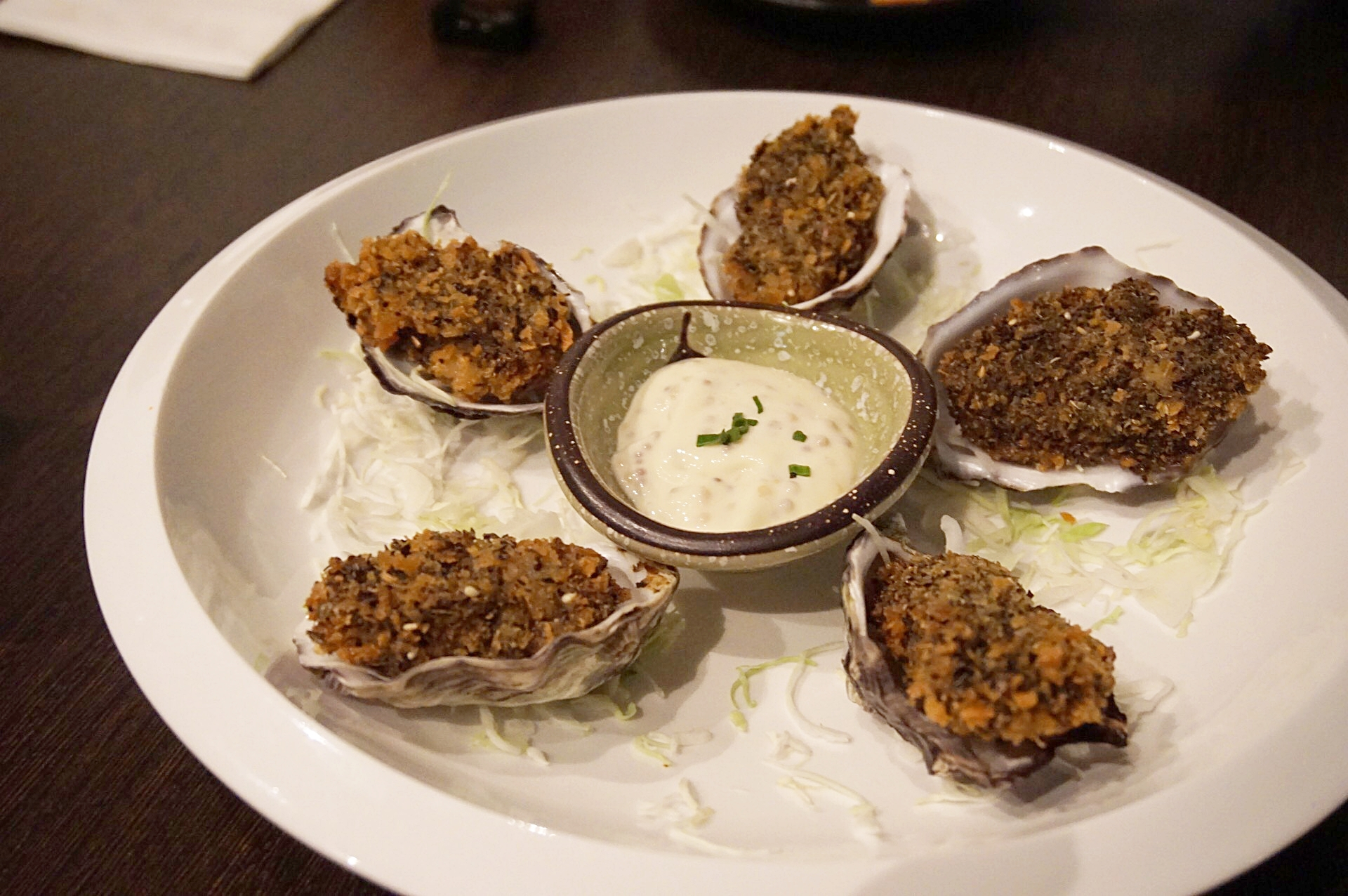 Panko Oysters
