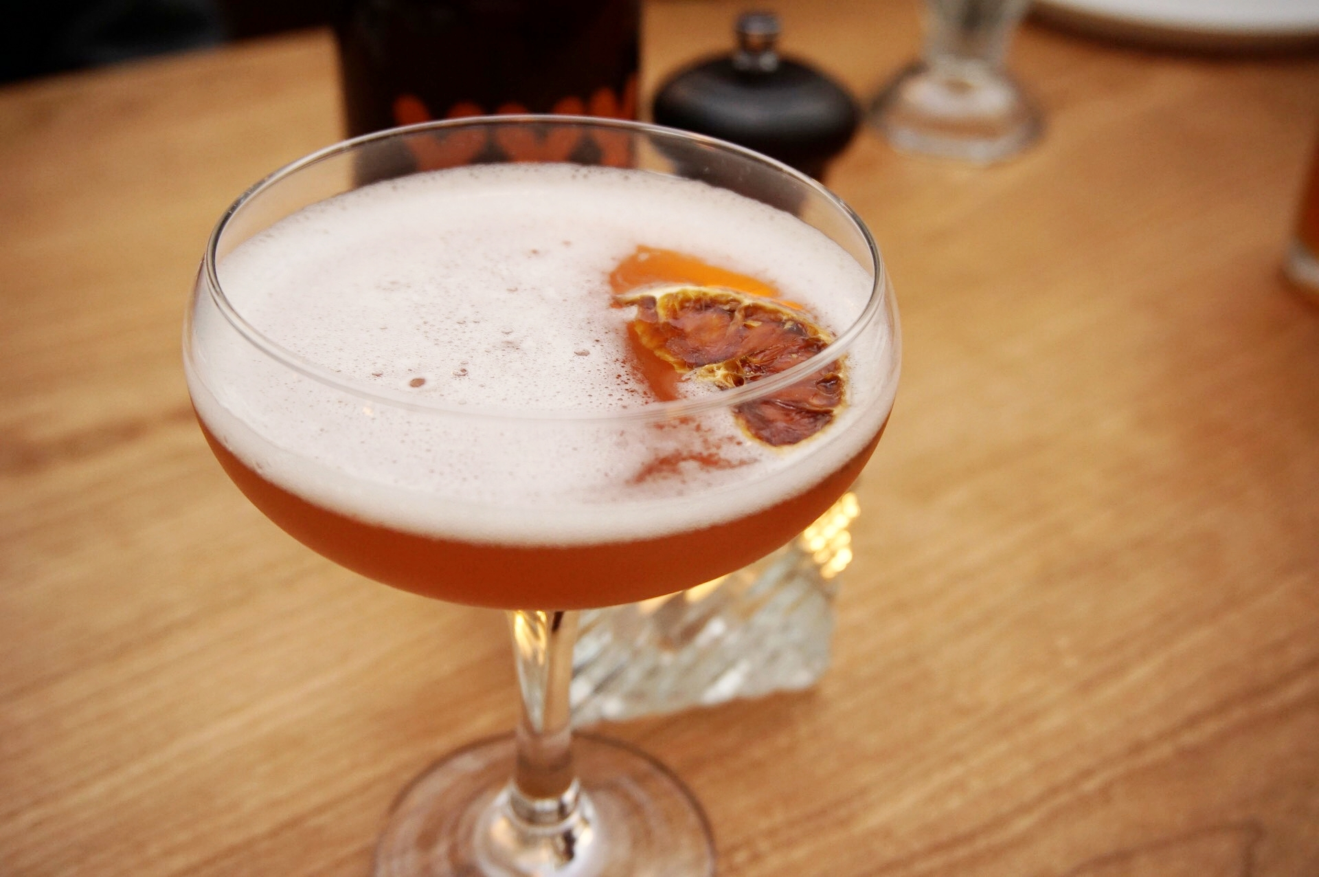Recommended Drink:The Smokey Scofflaw