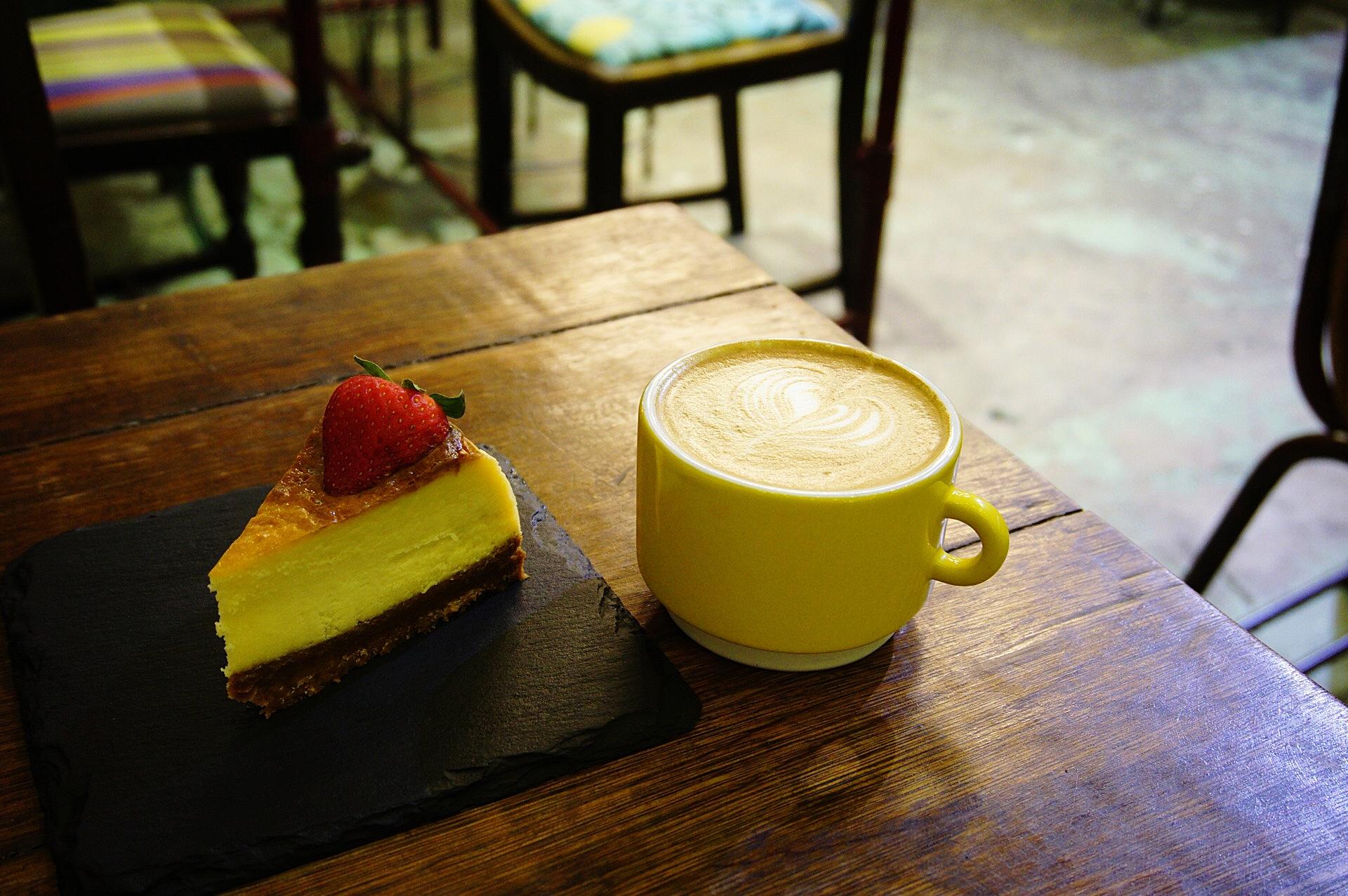 New York Cheese Cake AEIOU Cafe