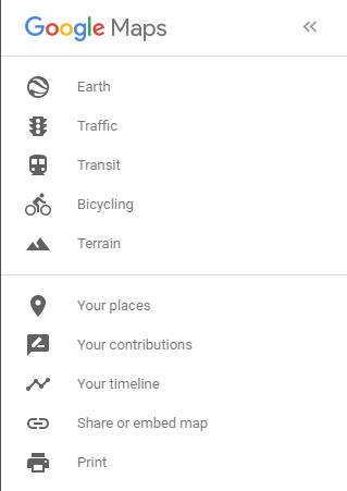 Google Maps: Your Places