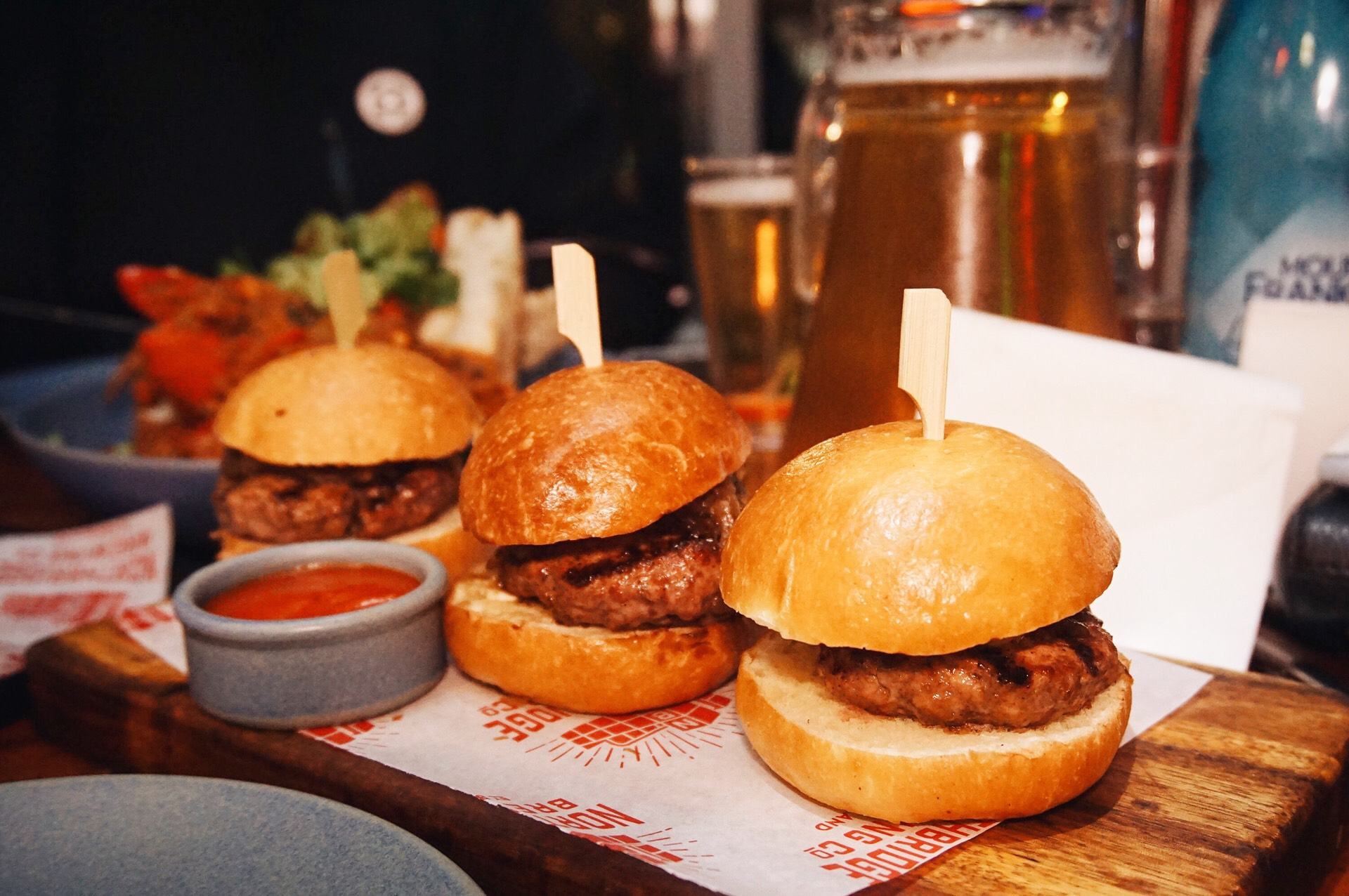 Russian Roulette Wagyu Sliders