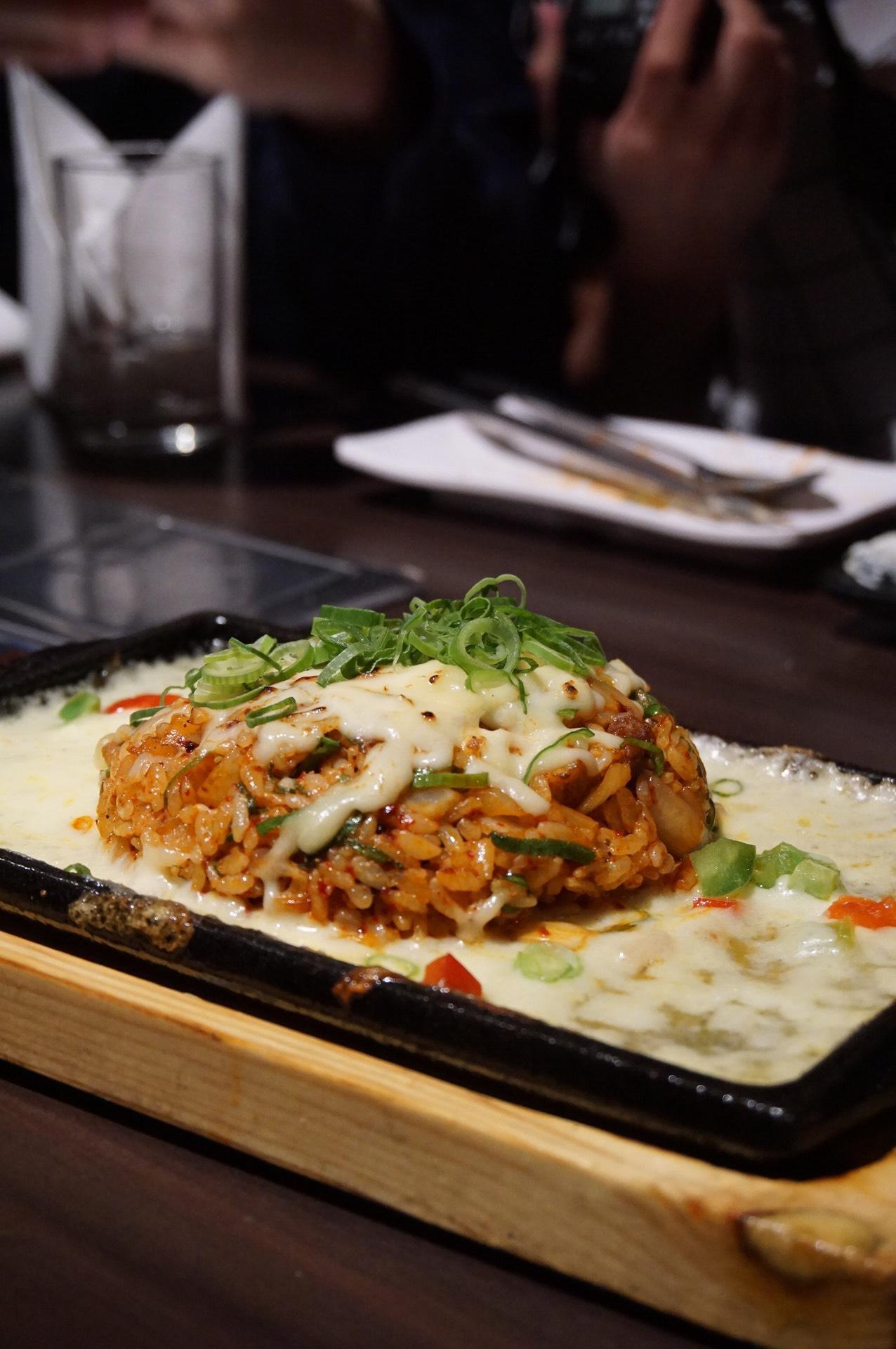 Kimcheese Fried Rice /김치 치즈 볶음밥 - $23