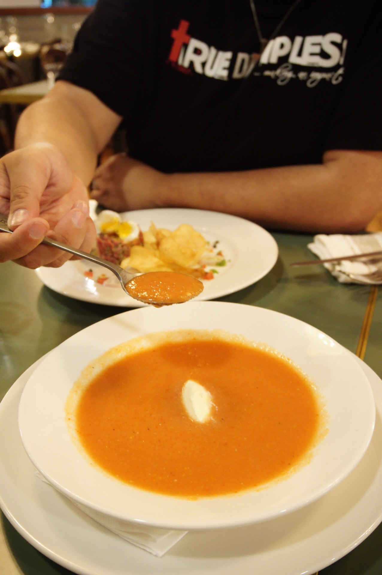 Gazpacho, served cold ;-)