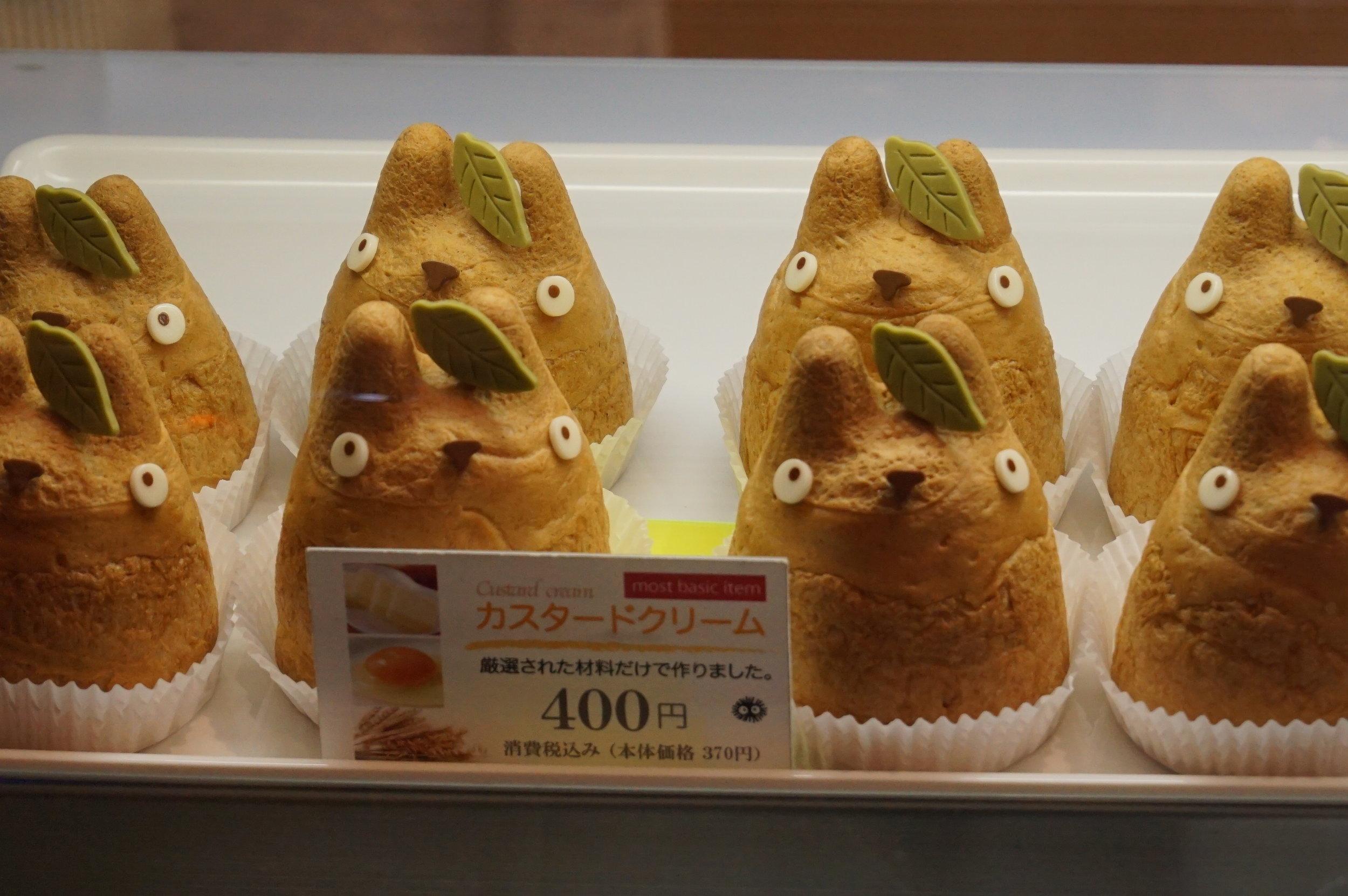 Custard cream puffs