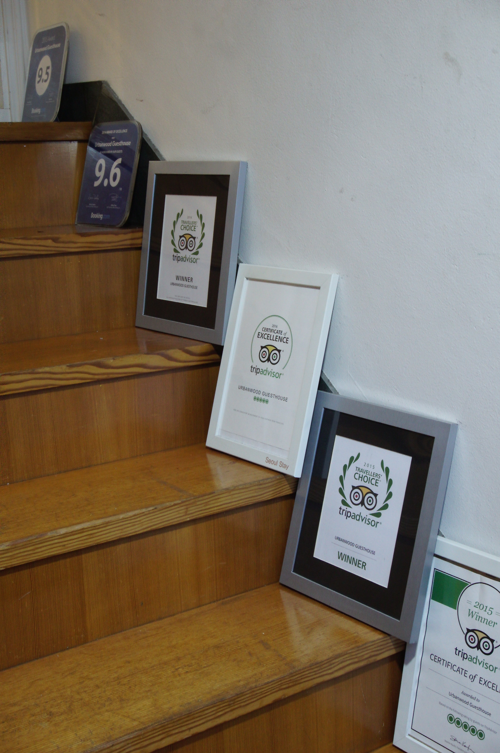 Just a few awards that they received...!