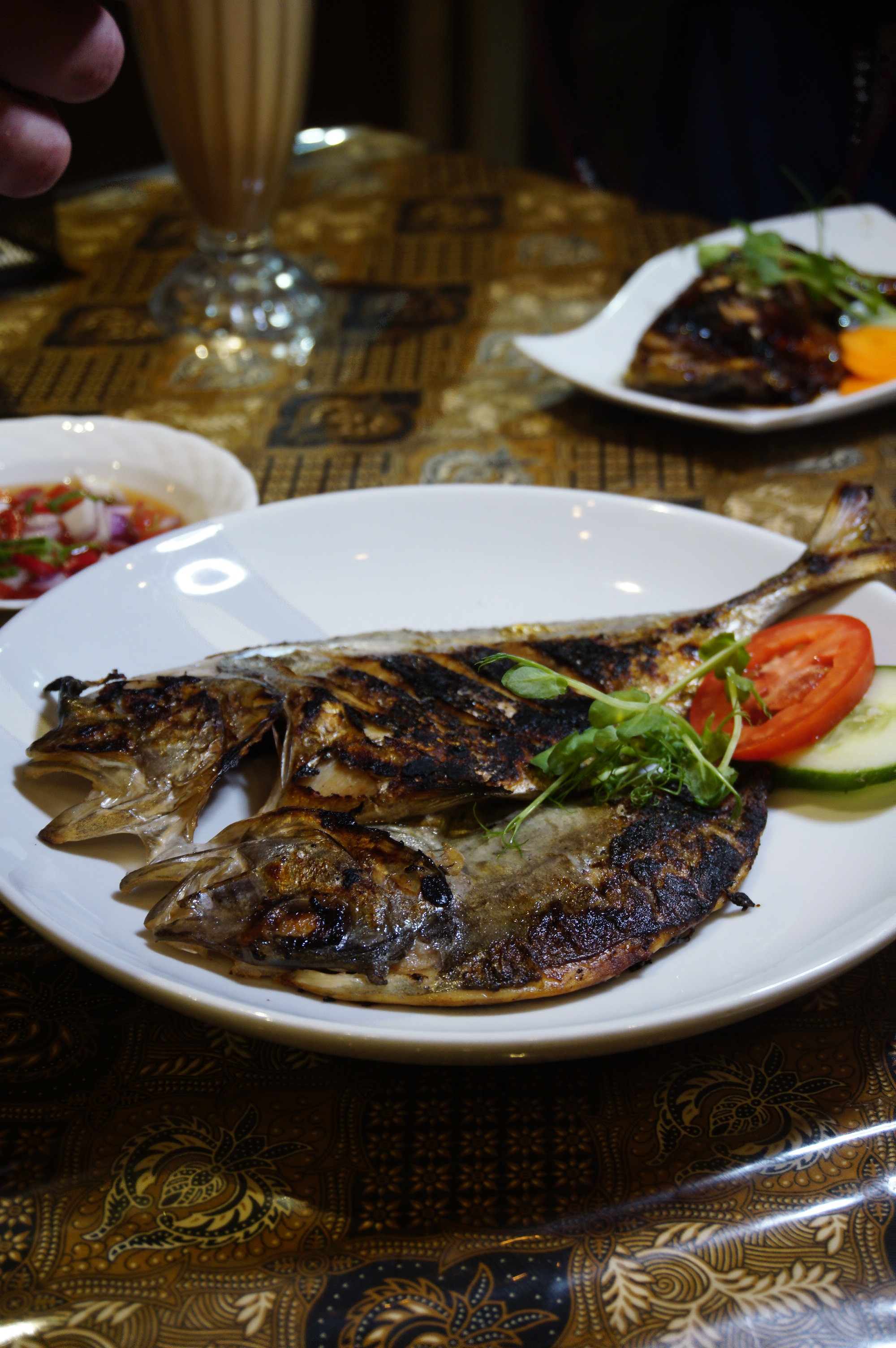 Grilled whole fish / Ikan Bakar