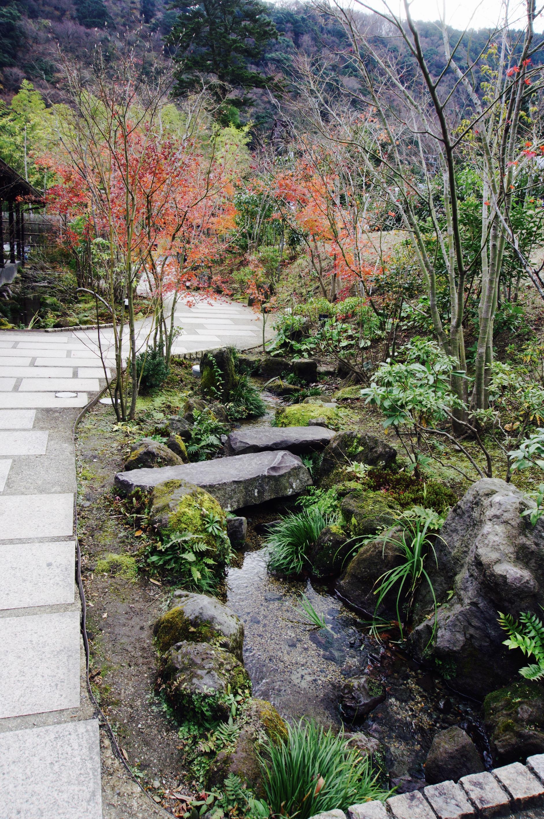 Inside the Hakone Yuryo, so beautiful!