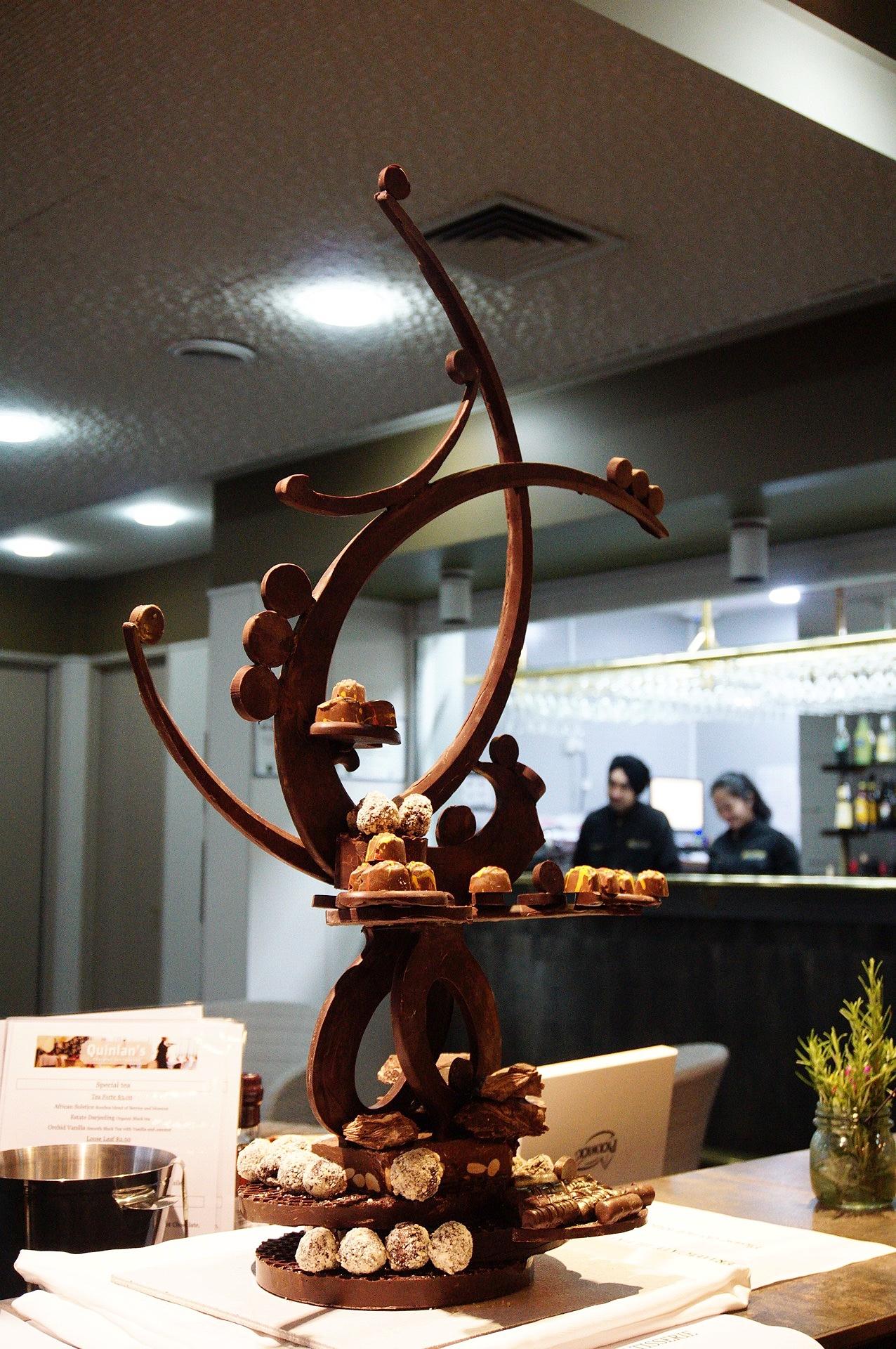 Amazing Chocolate Sculpture