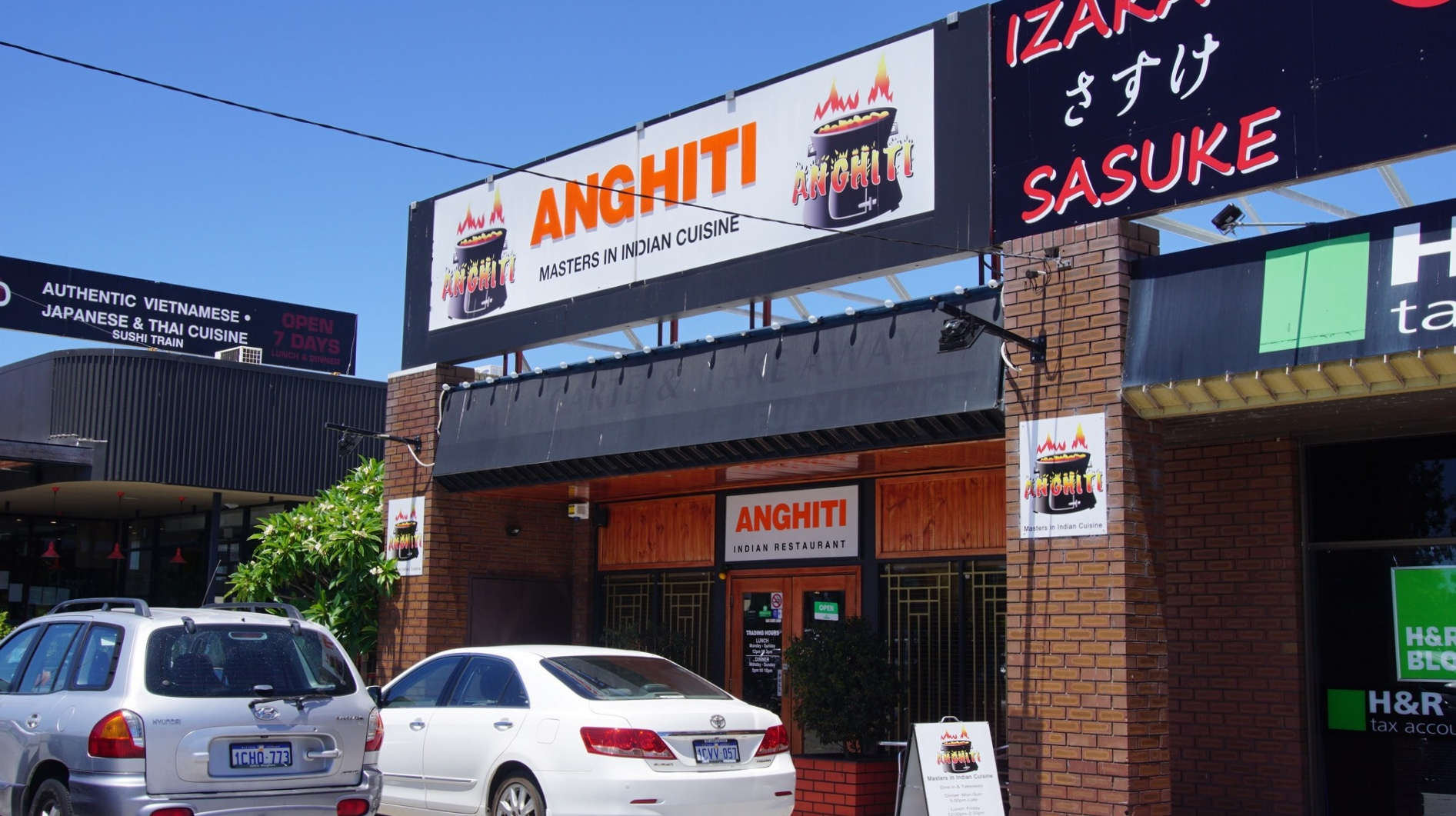 Anghiti Indian Restaurant Front