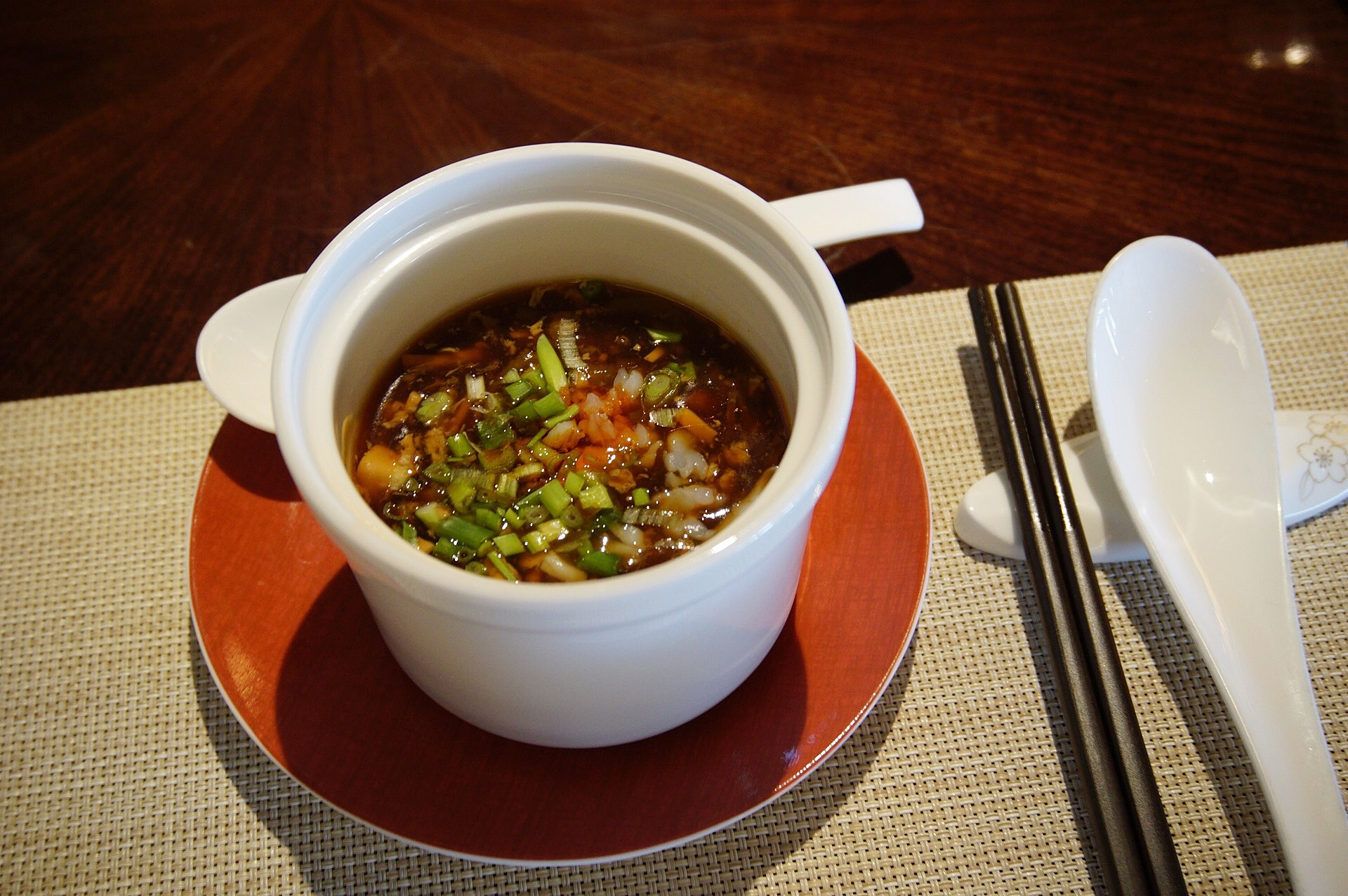Hot and Sour Seafood Soup - Cherry Garden