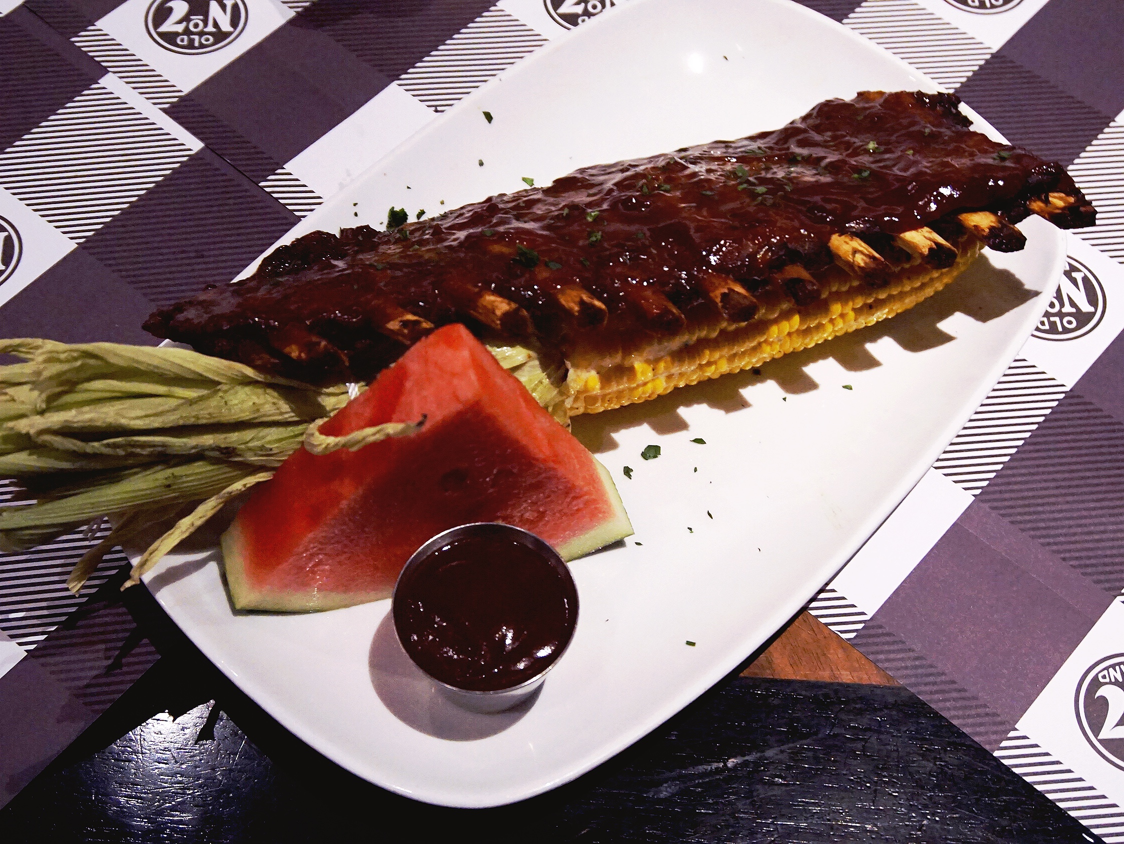 Full ribs rack