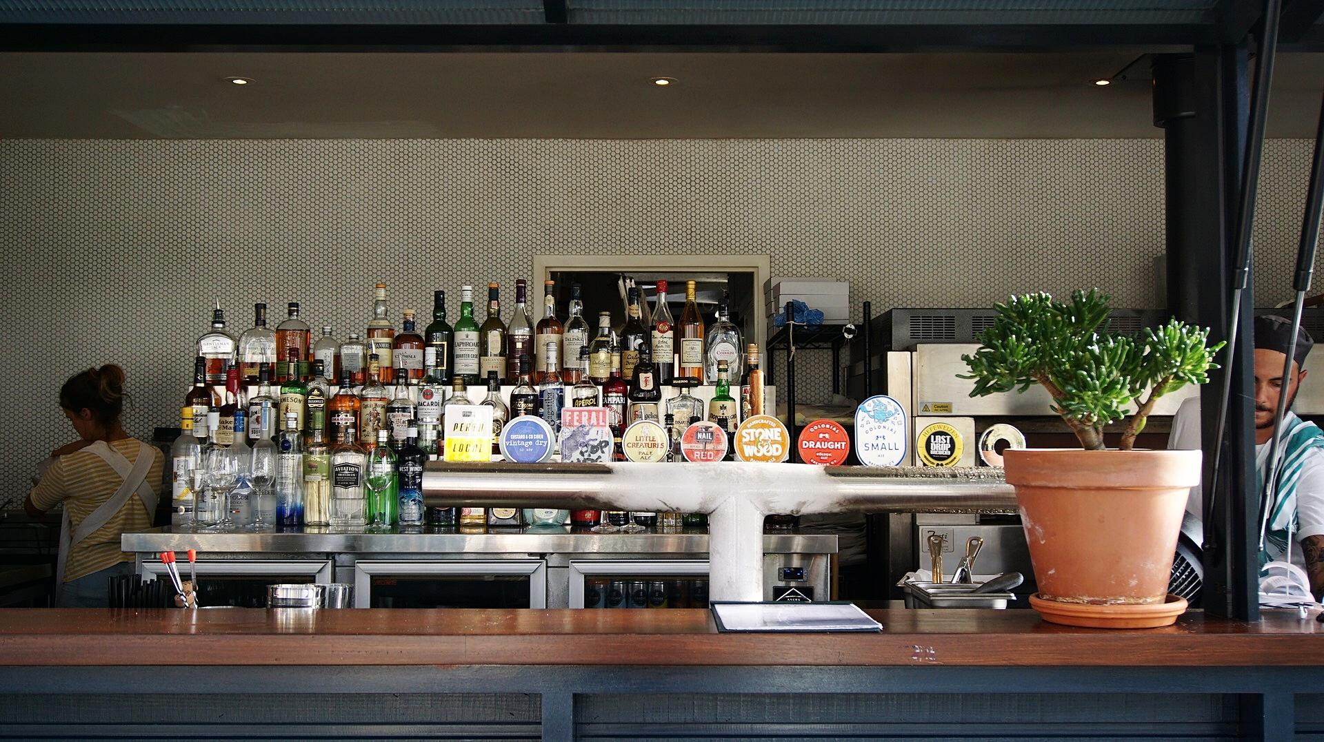 Bar at Isle of Voyage