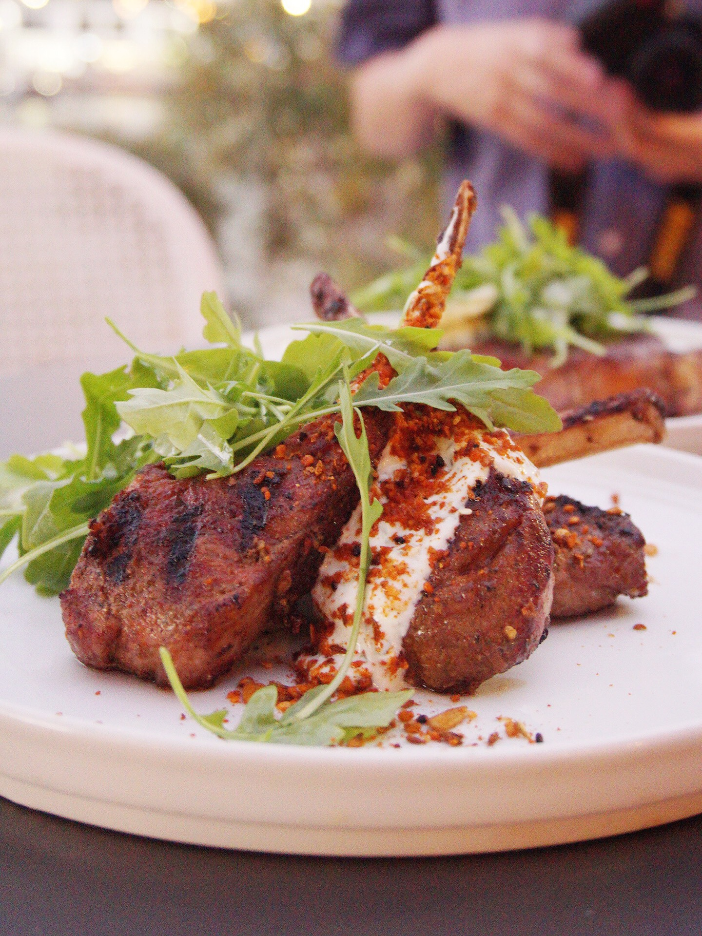 Grilled Lamb Cutlets Isle of Voyage