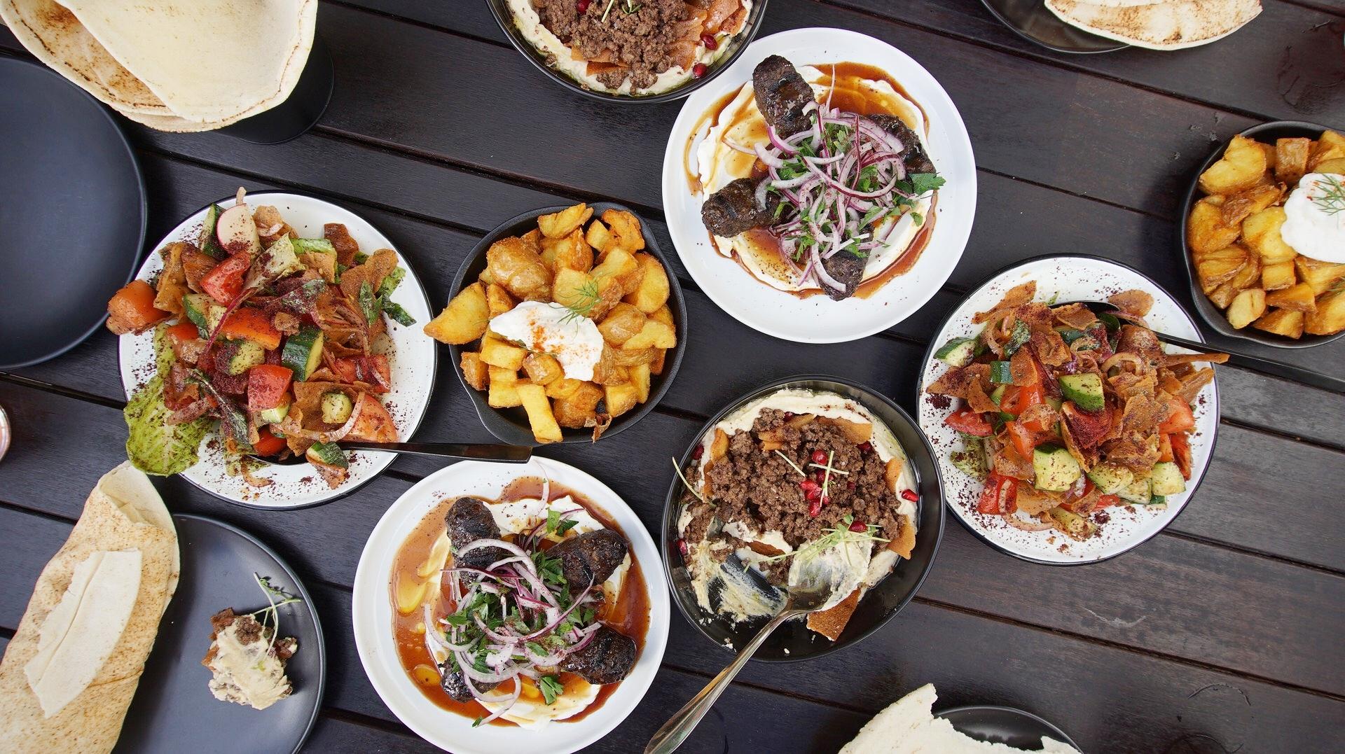 Hummus Club Northbridge Dinner