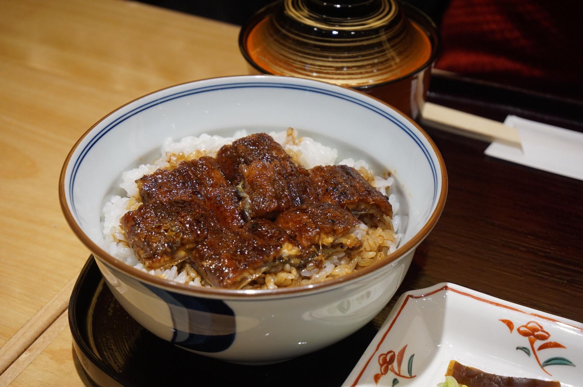 Grilled Eel Set Meal