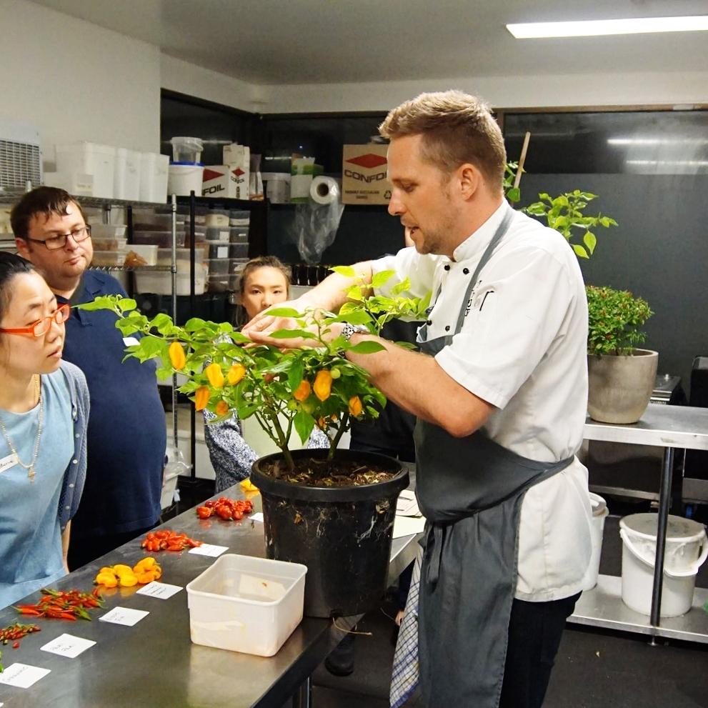 Chef Scott Bridger Chilli Workshop
