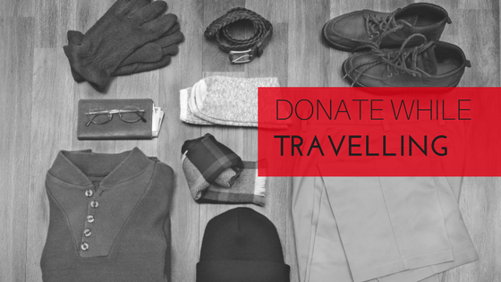 Donate while Travelling