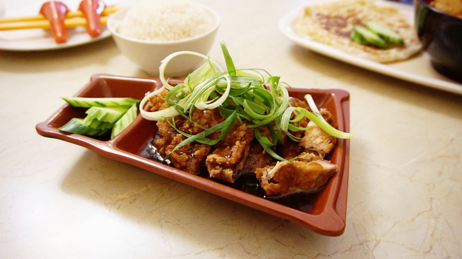 Tak Chee's - Pan Fried Garlic Chicken