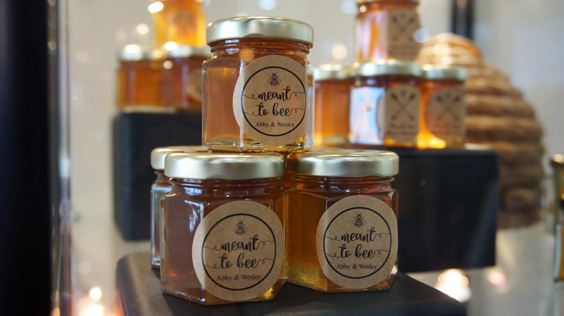 Wedding Souvenir Honey Jar