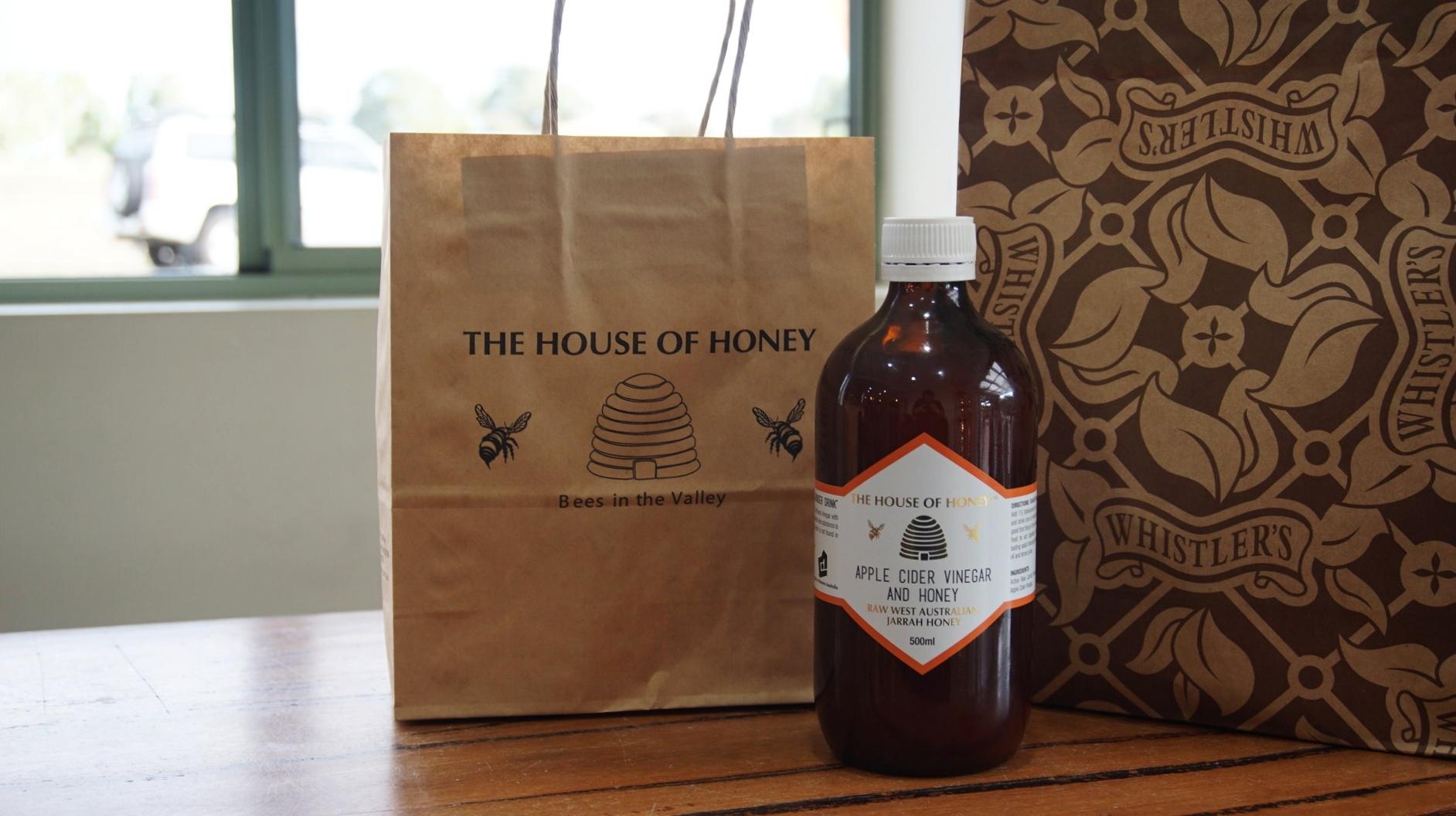 Apple Cider Vinegar House of Honey