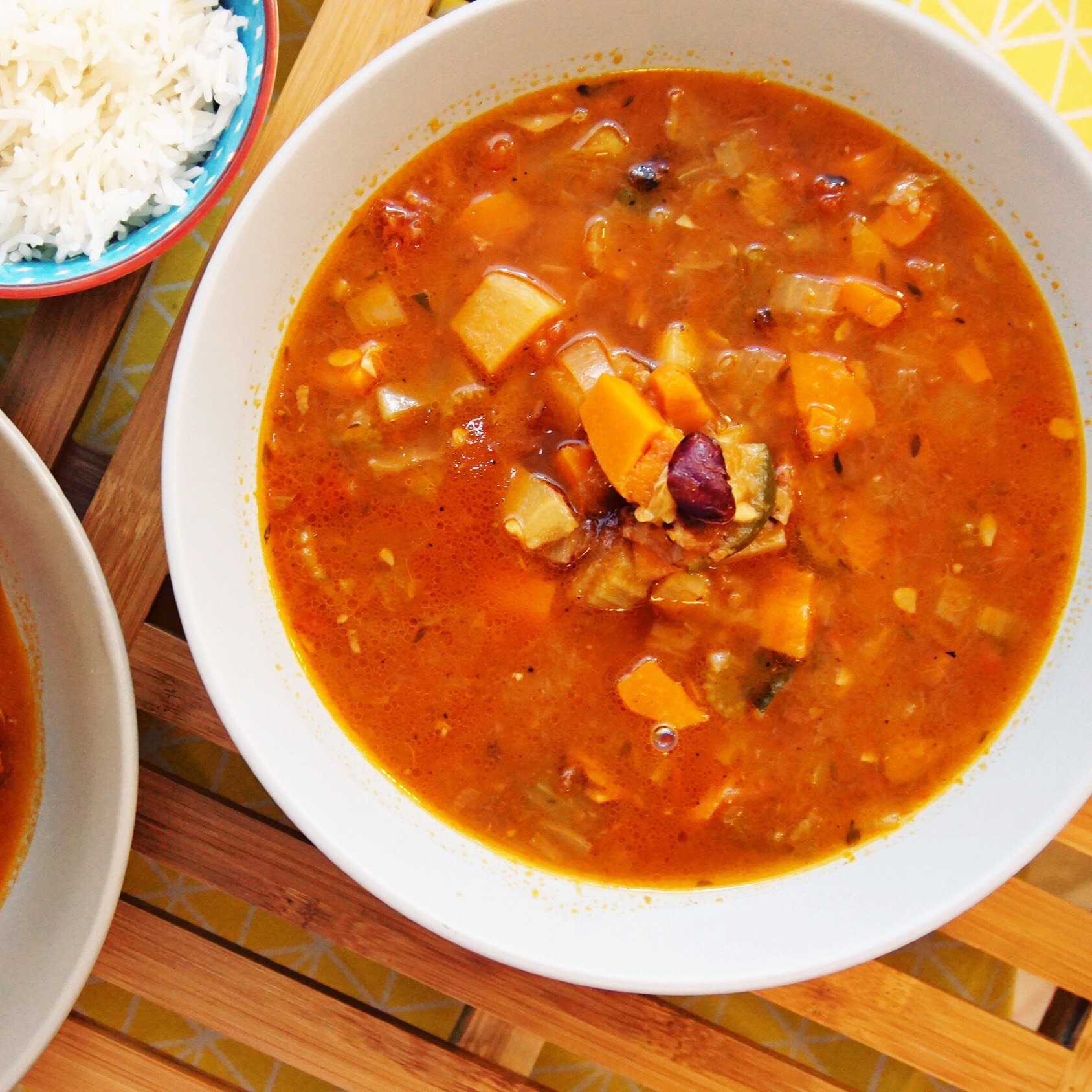 Minestrone Soup - Vegetable Tsunami!