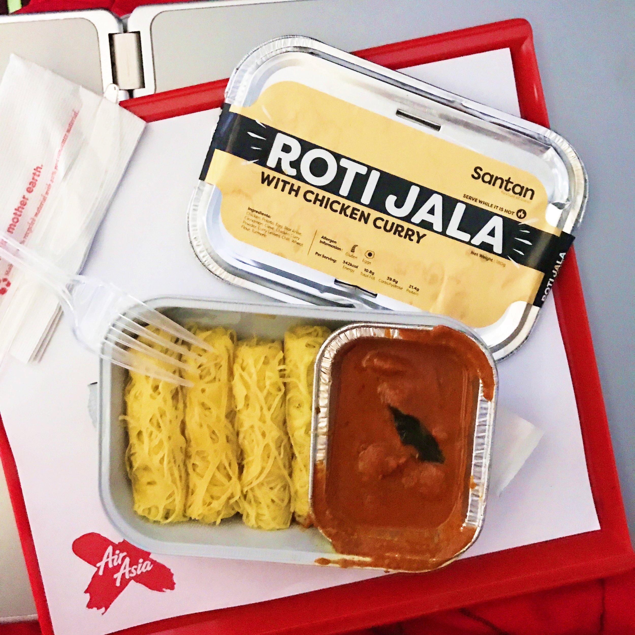 Roti Jala - AirAsia's Santan Meal