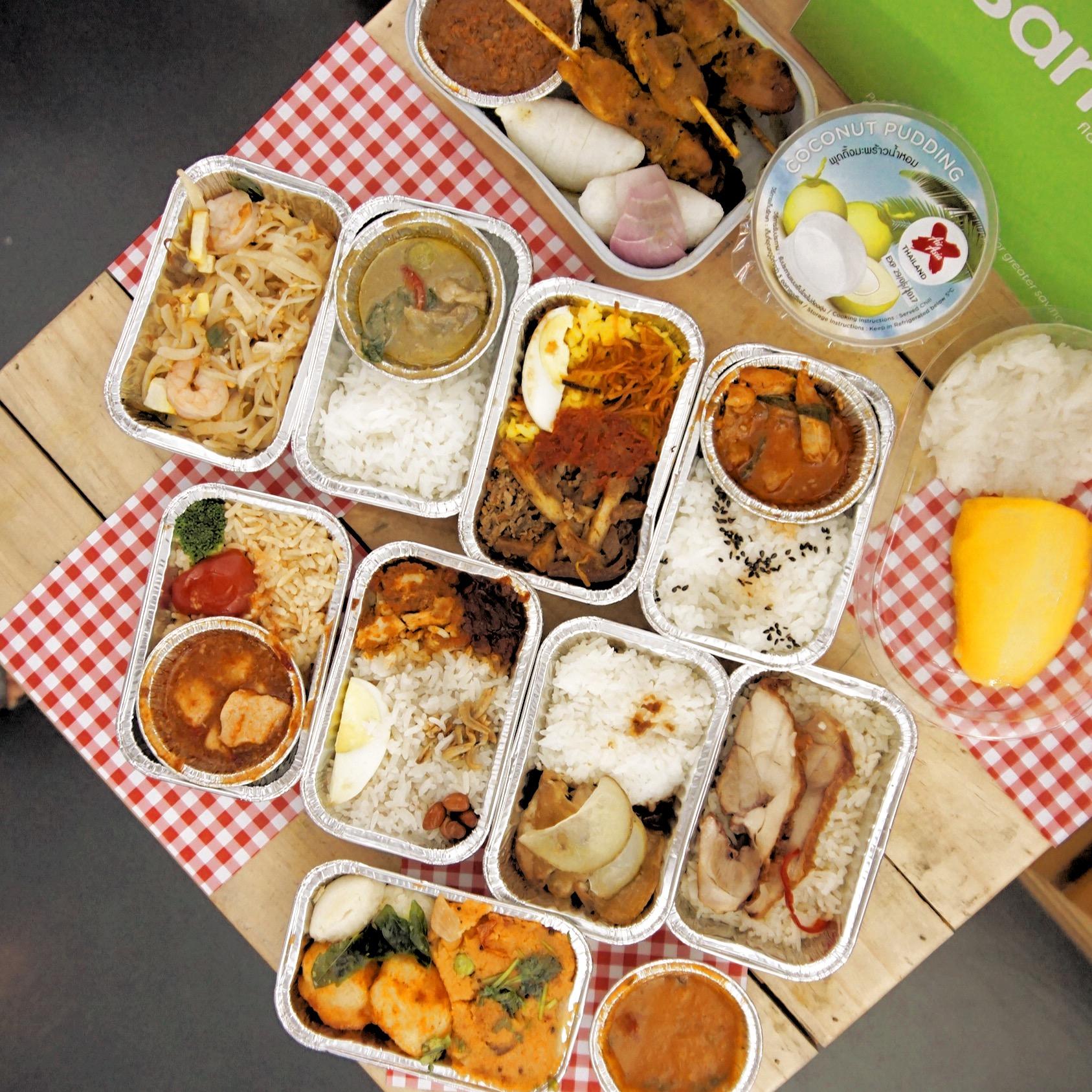 AirAsia Santan Meals