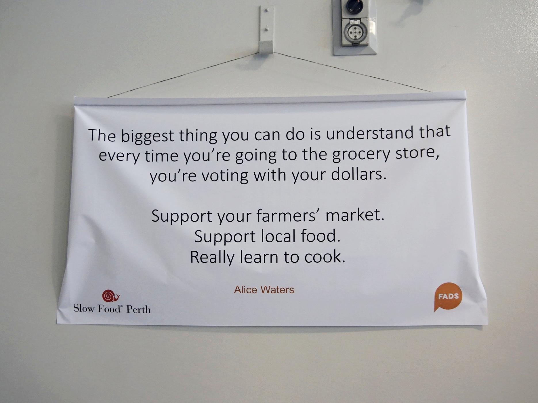 Slow Food Perth WAFADS