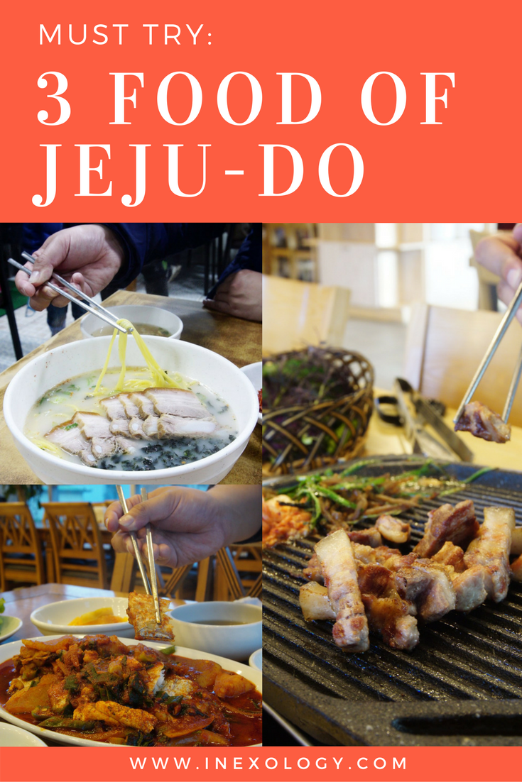 3 Food Must Try at Jeju