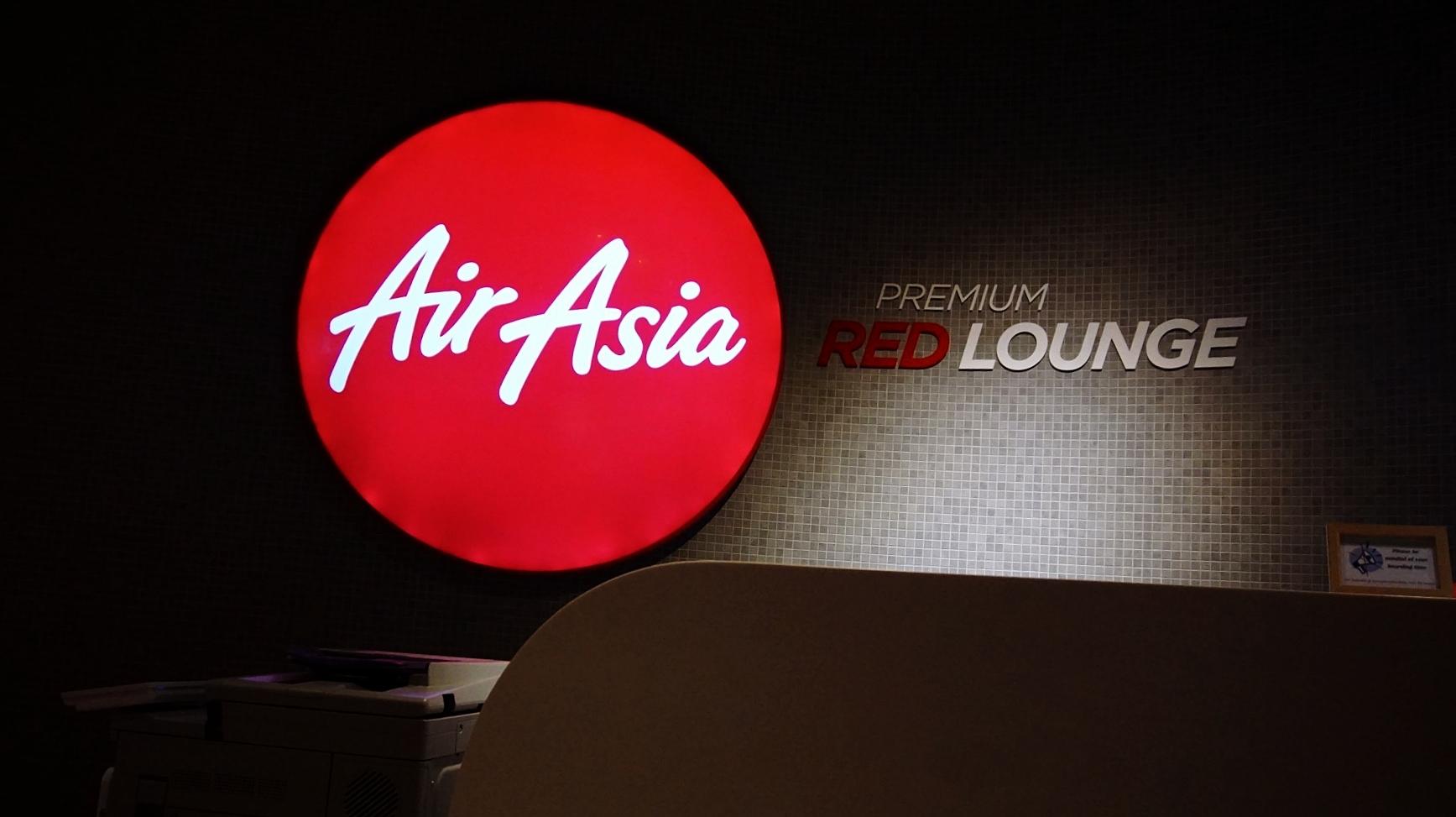 AirAsia Red Lounge KLIA2