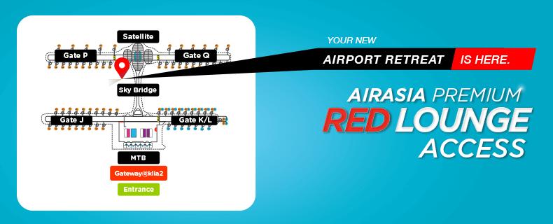AirAsia Lounge Location